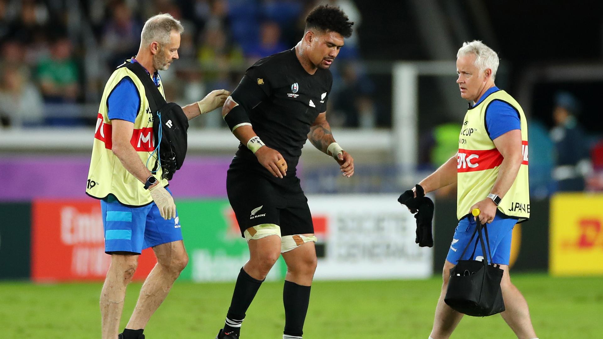 Injury blow for star All Blacks loose forward Ardie Savea