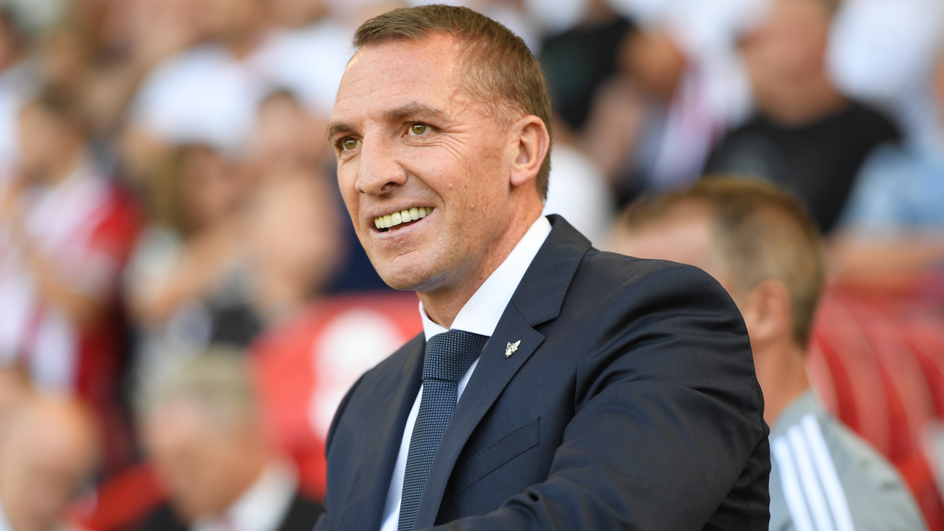 Rodgers 'very happy' at Leicester City amid Arsenal rumours