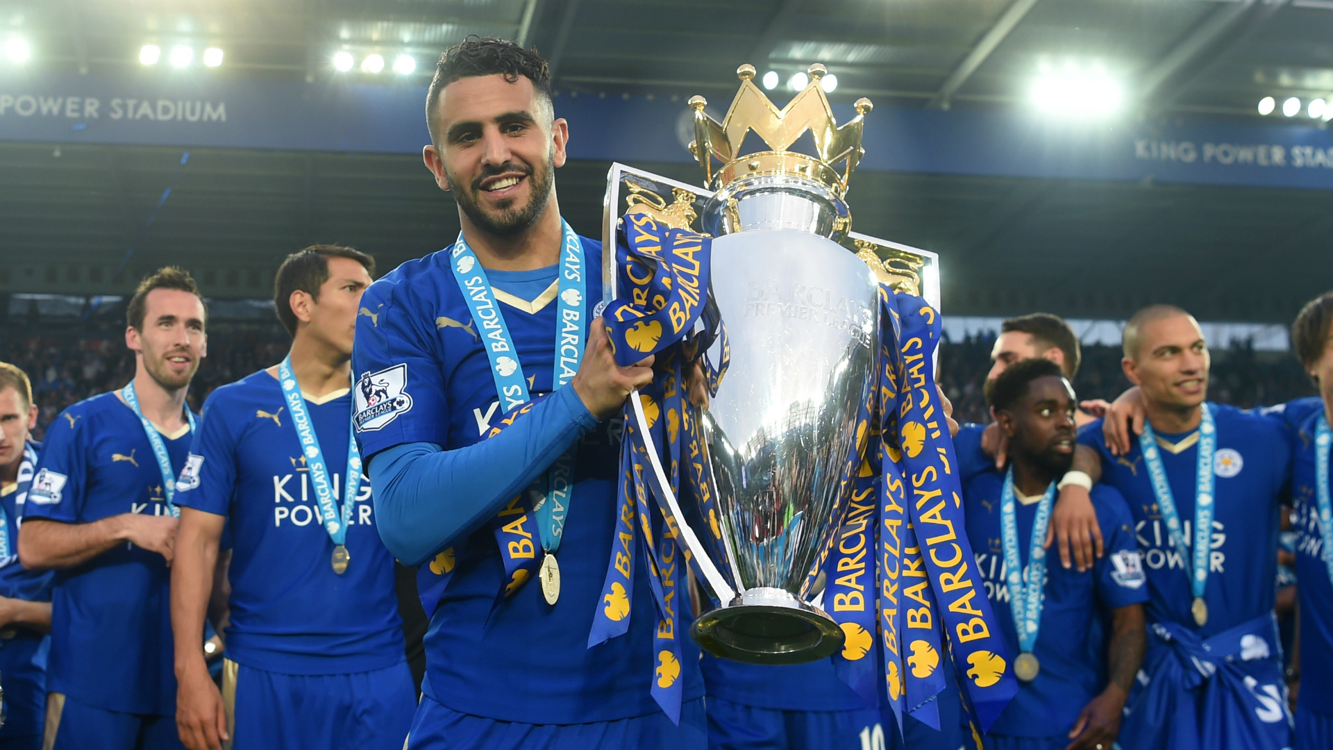 Mahrez not surprised by Leicester's title challenge