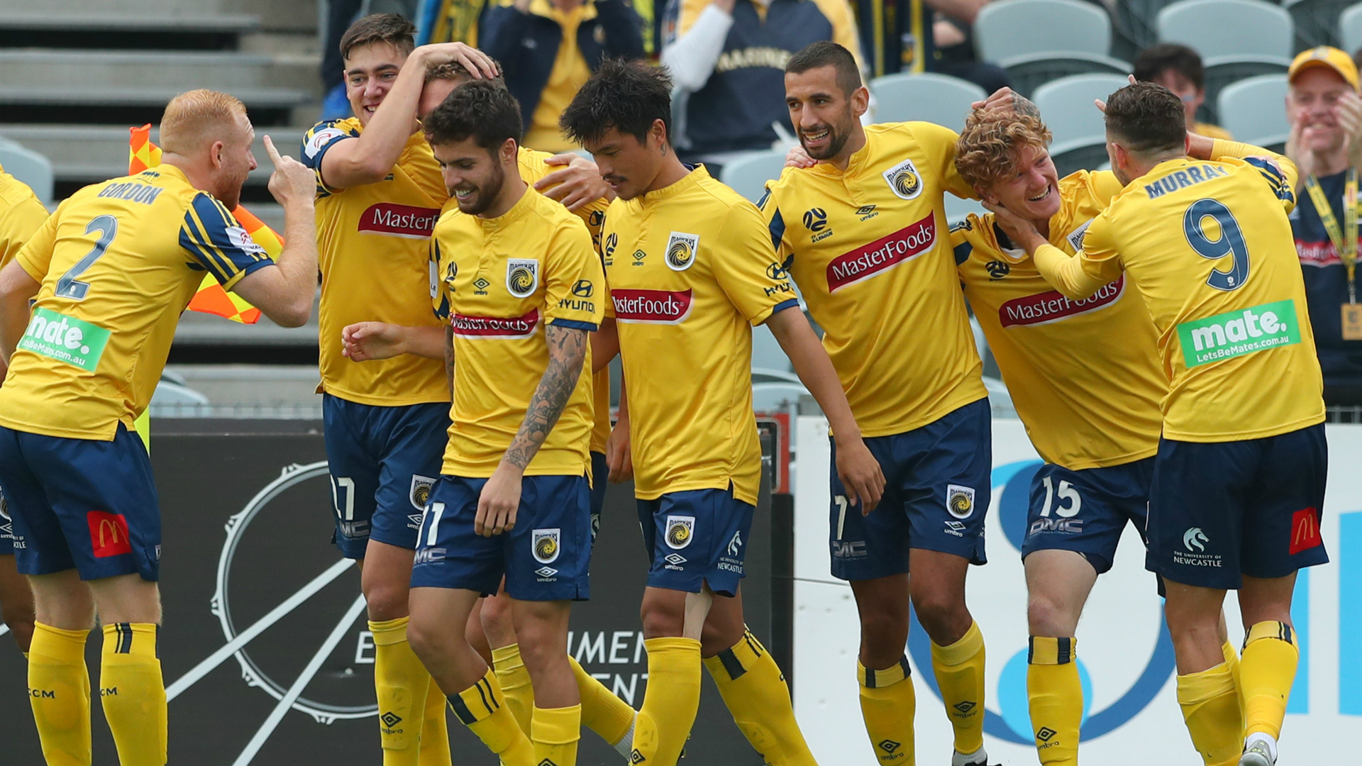 Central Coast Mariners 2-1 Adelaide United: Rowles, Duric take Stajcic's side off bottom
