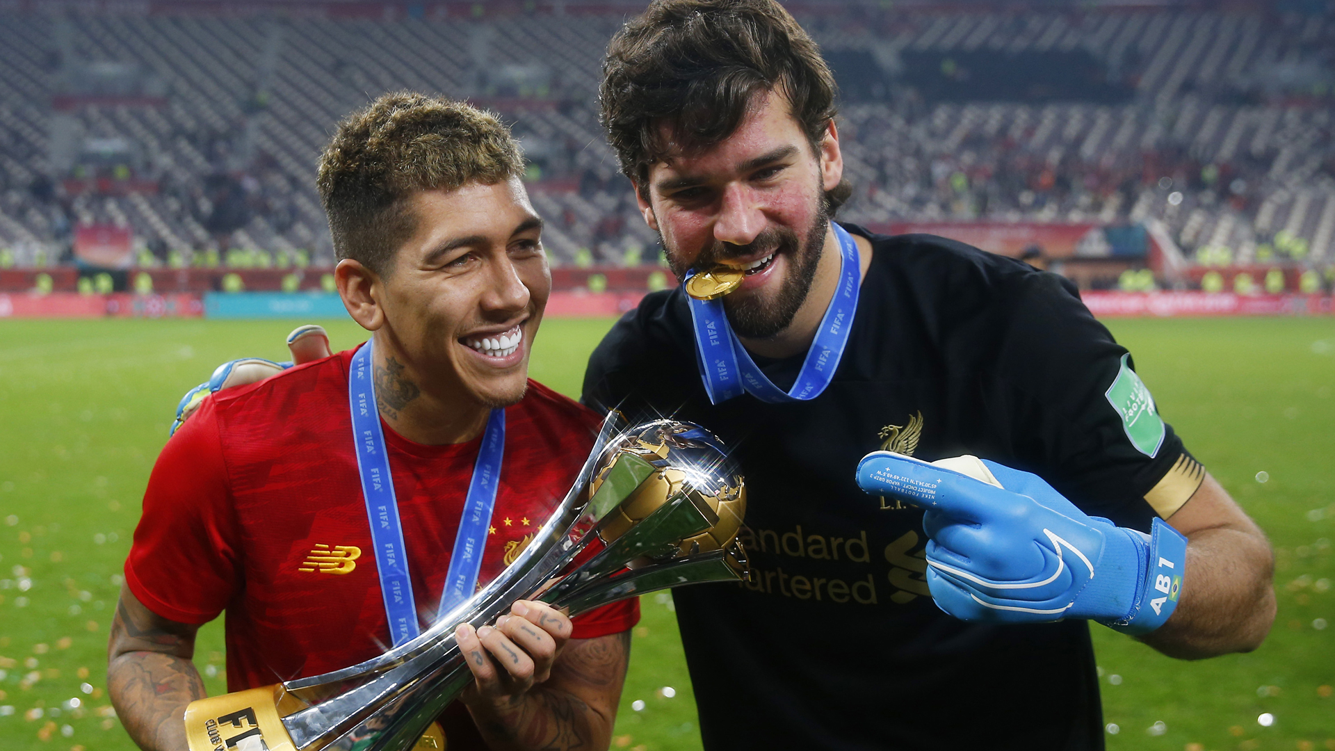 Alisson hails Firmino after Club World Cup heroics