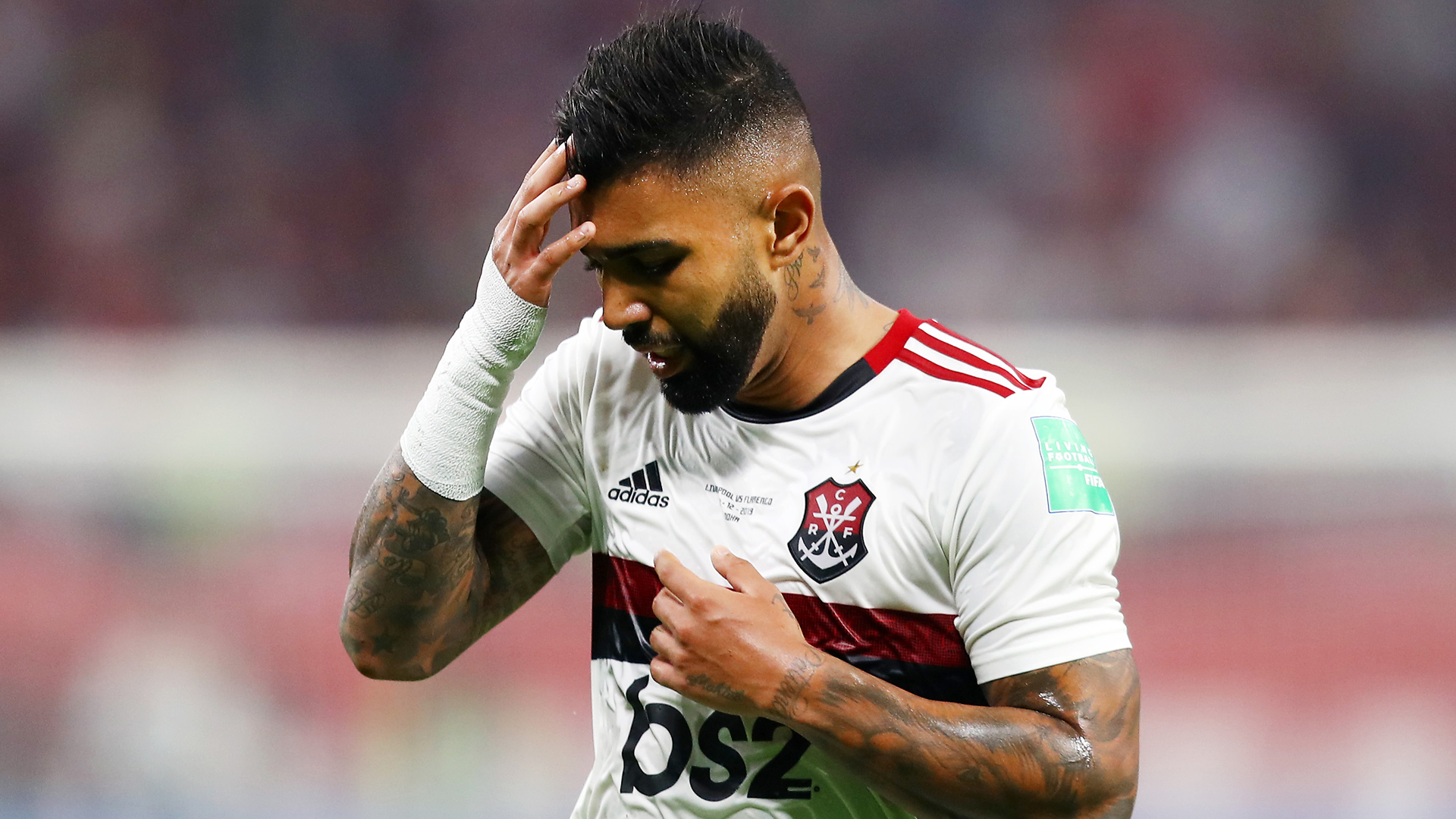 Gabriel Barbosa not ready to discuss future after Club World Cup loss