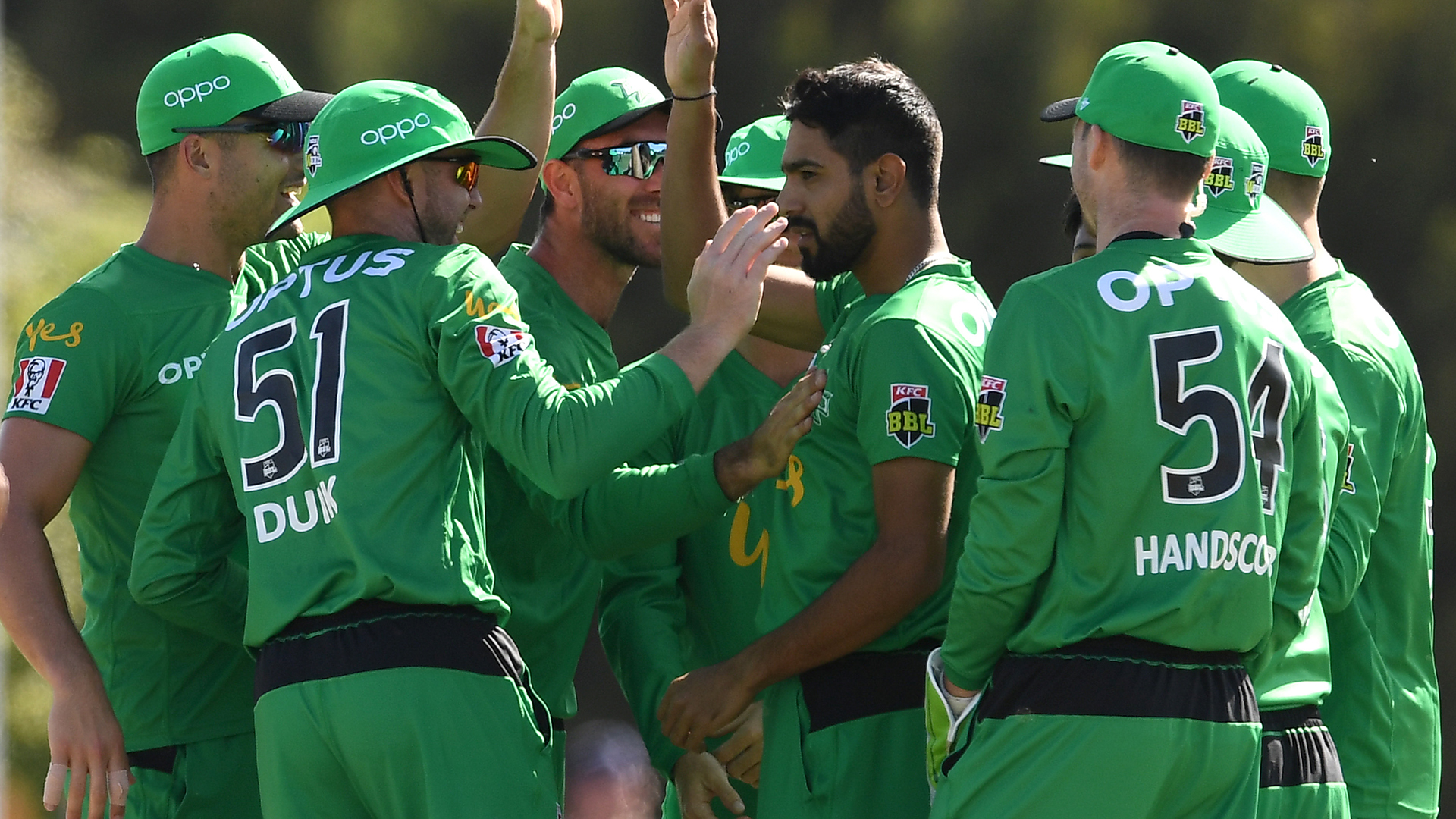 Rauf stars with five-for as Stars crush Hurricanes