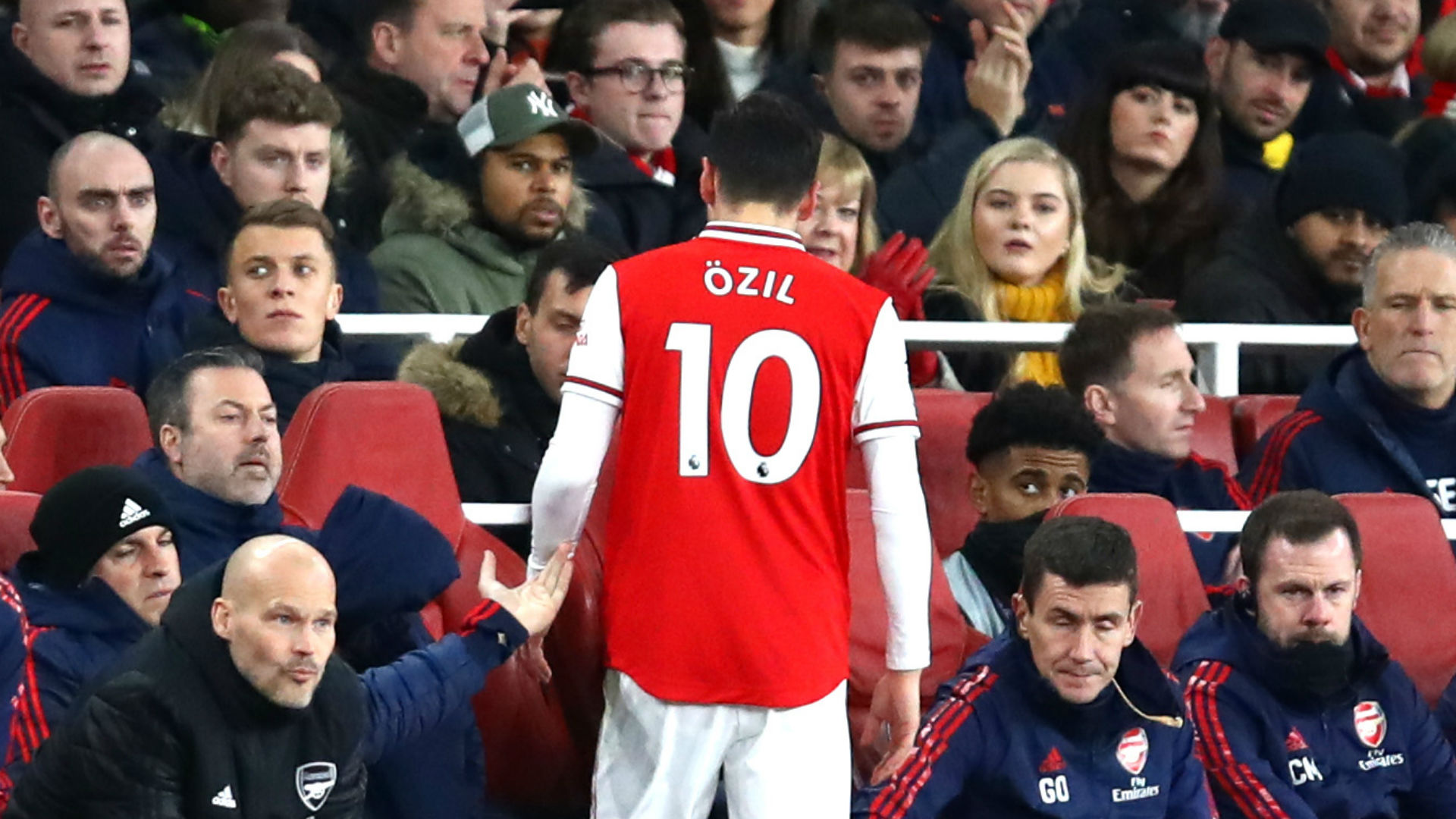 Ozil available for Arteta's first match in charge of Arsenal