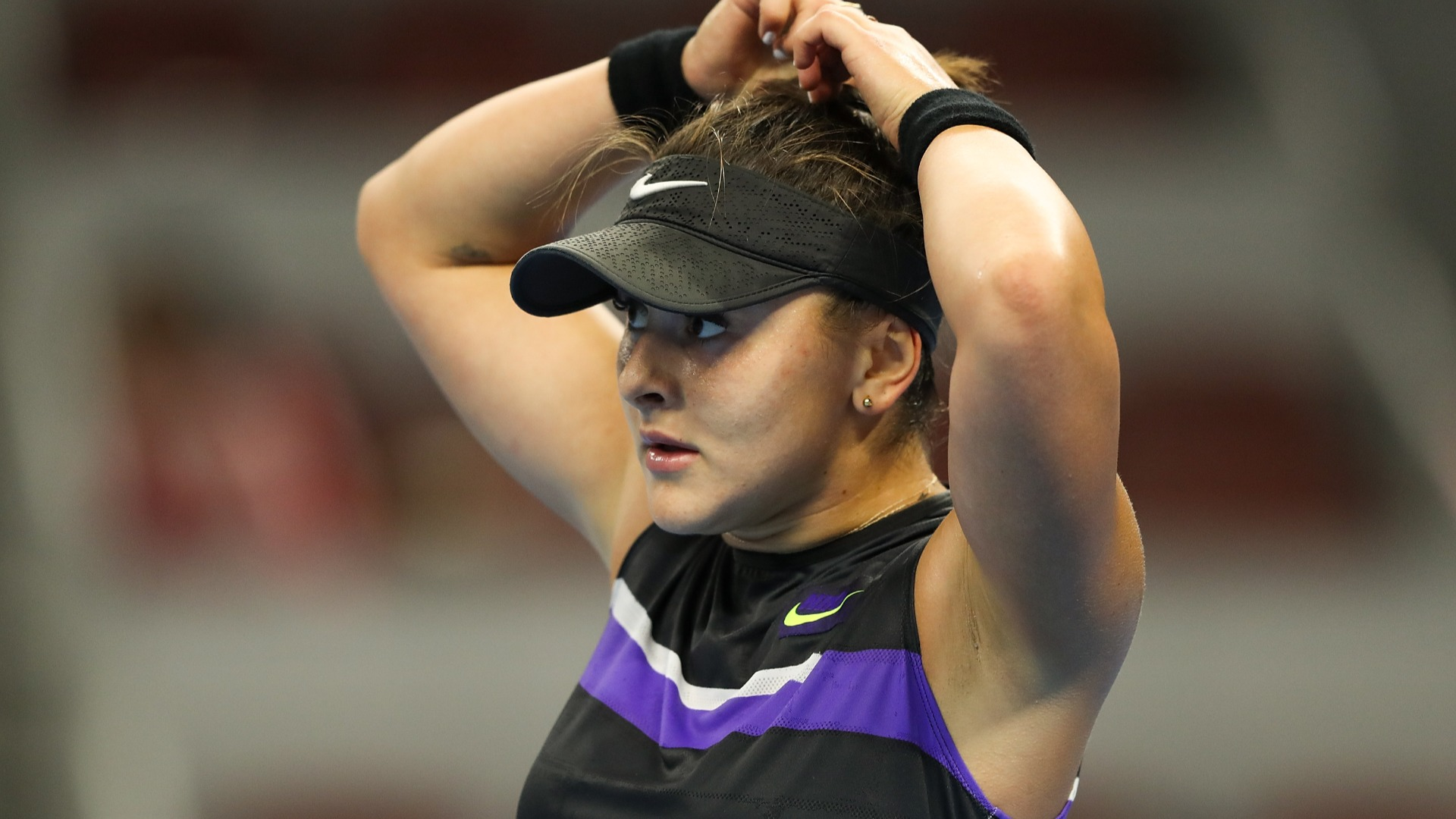 Andreescu withdraws from Auckland Open due to knee injury