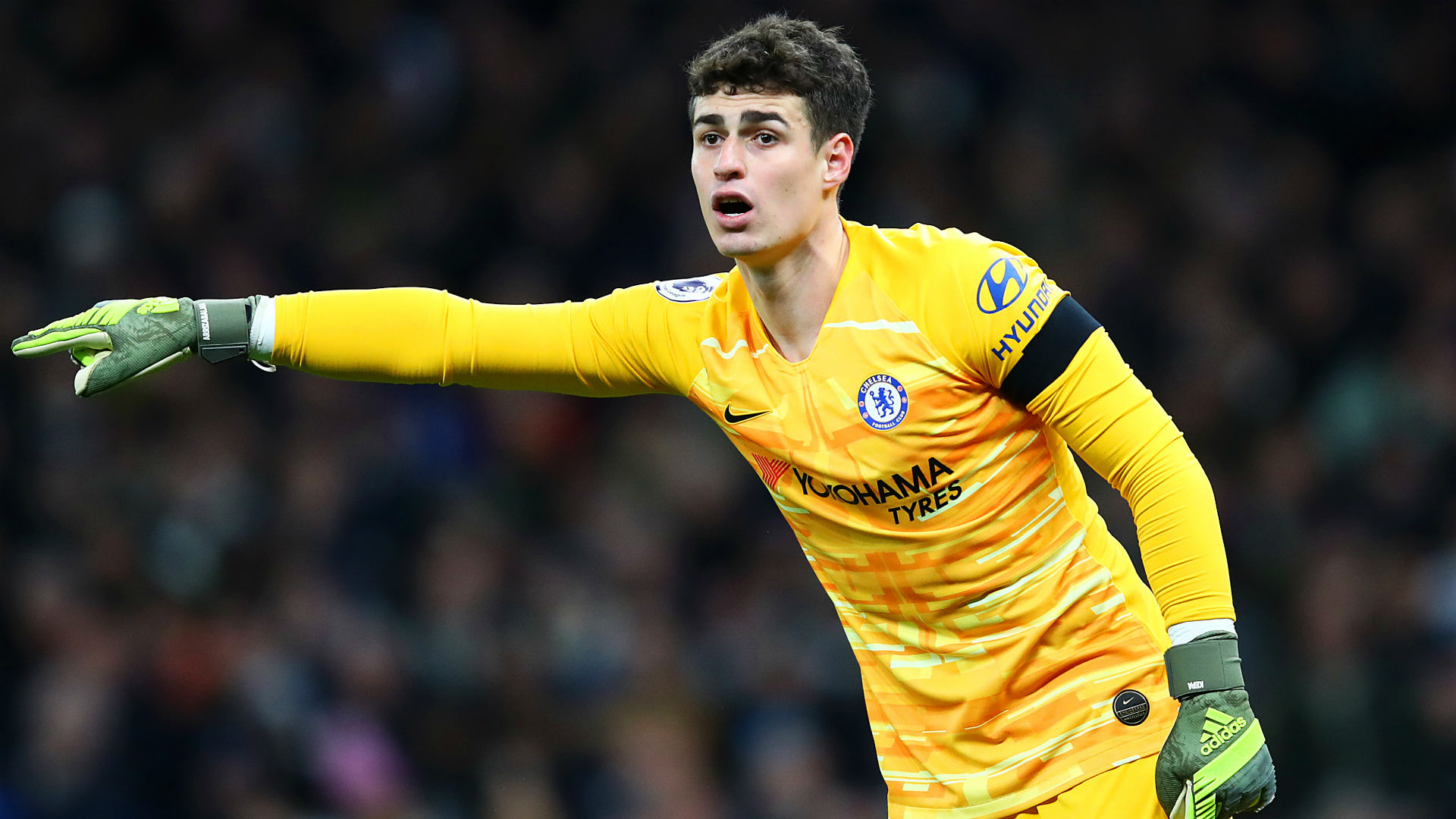 Tottenham ban supporter for throwing cup at Chelsea goalkeeper Kepa