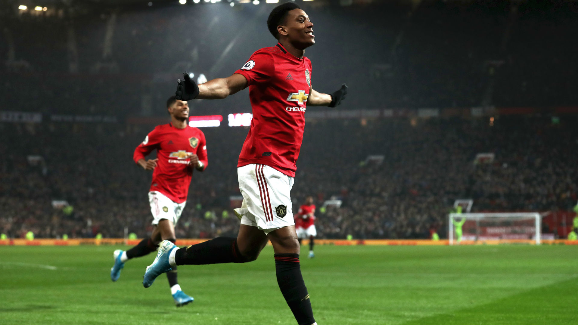 Manchester United 4-1 Newcastle United: Martial helps Red Devils get in the festive spirit