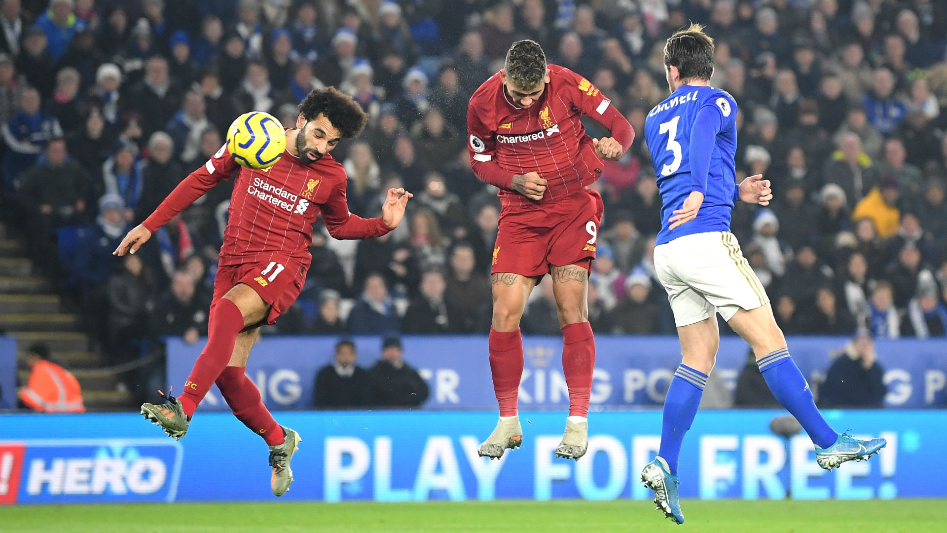 Leicester City 0-4 Liverpool: Firmino at the double as Reds go 13 points clear