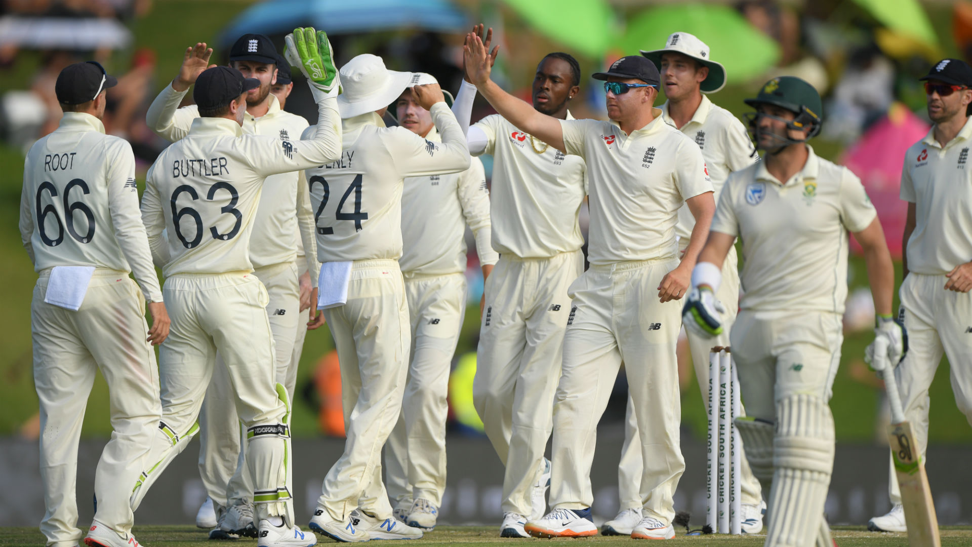 England's batsmen fail to deliver but bowlers hand tourists hope