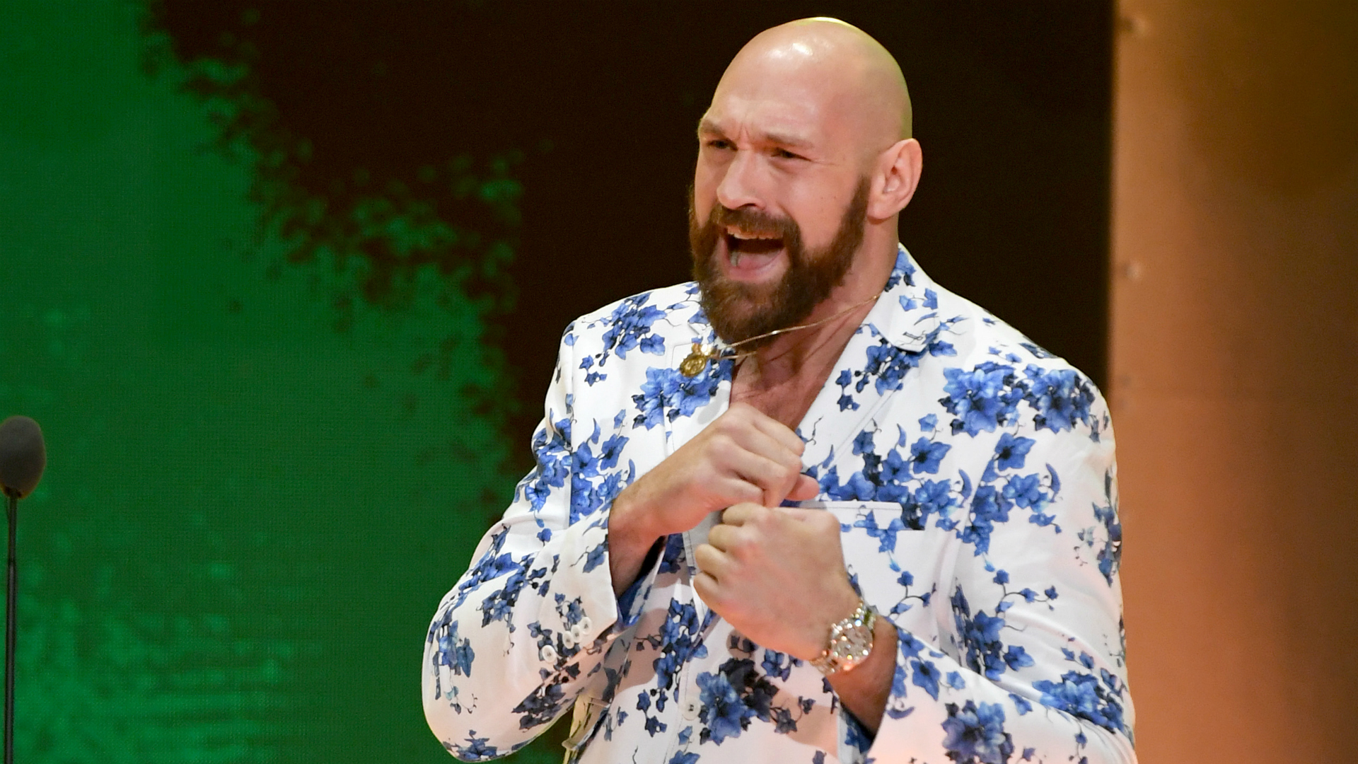 Fury says 'real champion will be crowned' and explains 'stale' trainer switch