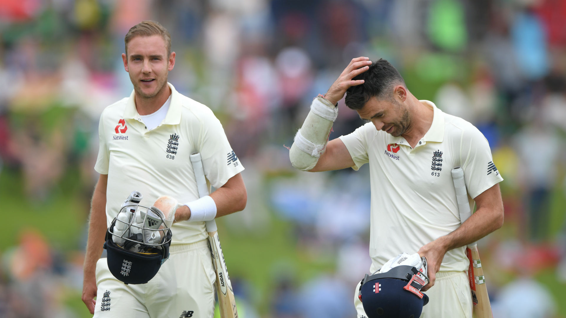 Anderson and Broad not certainties for second South Africa Test, claims Silverwood