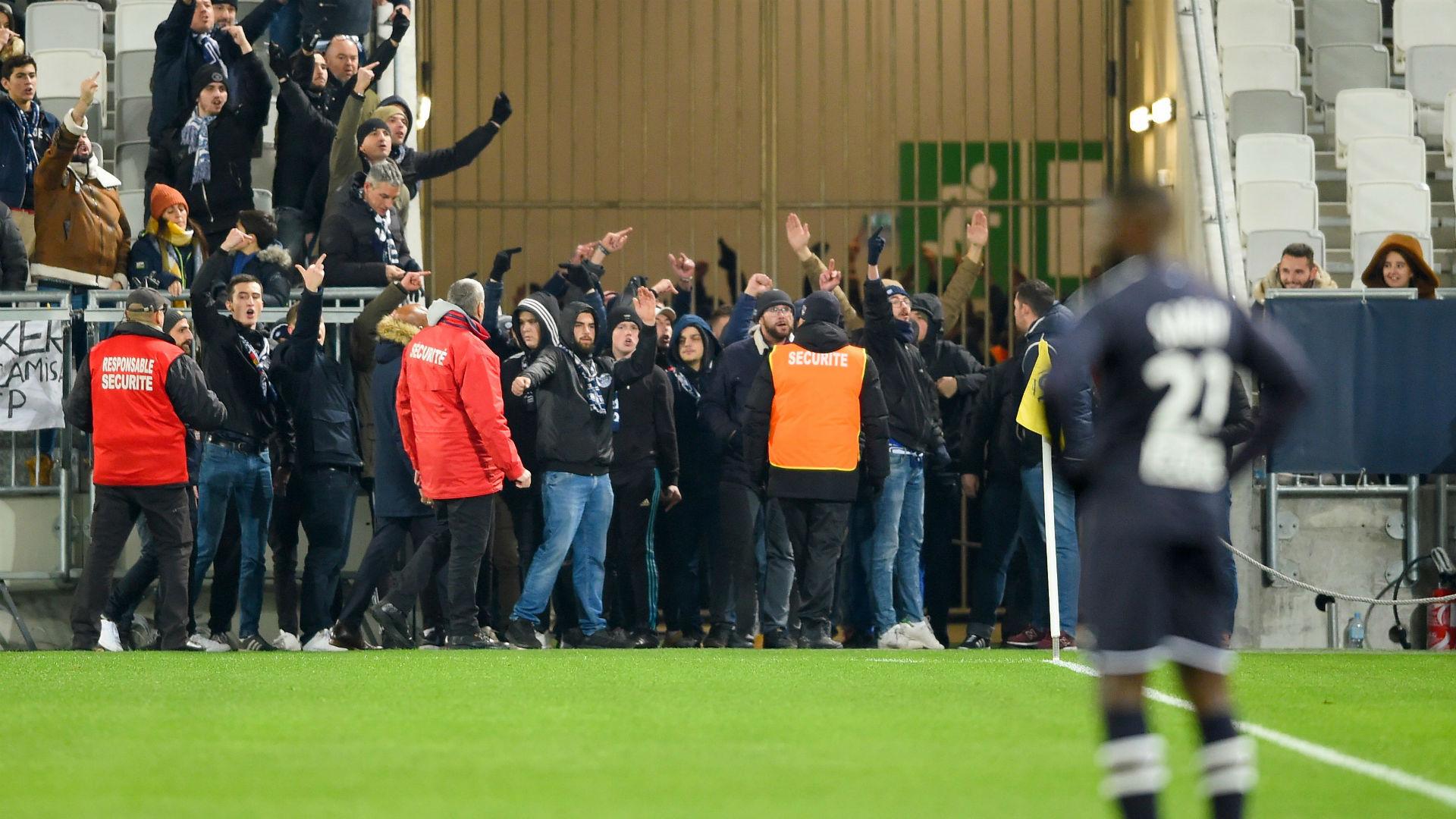 Bordeaux fans halt Nimes clash to protest against owners