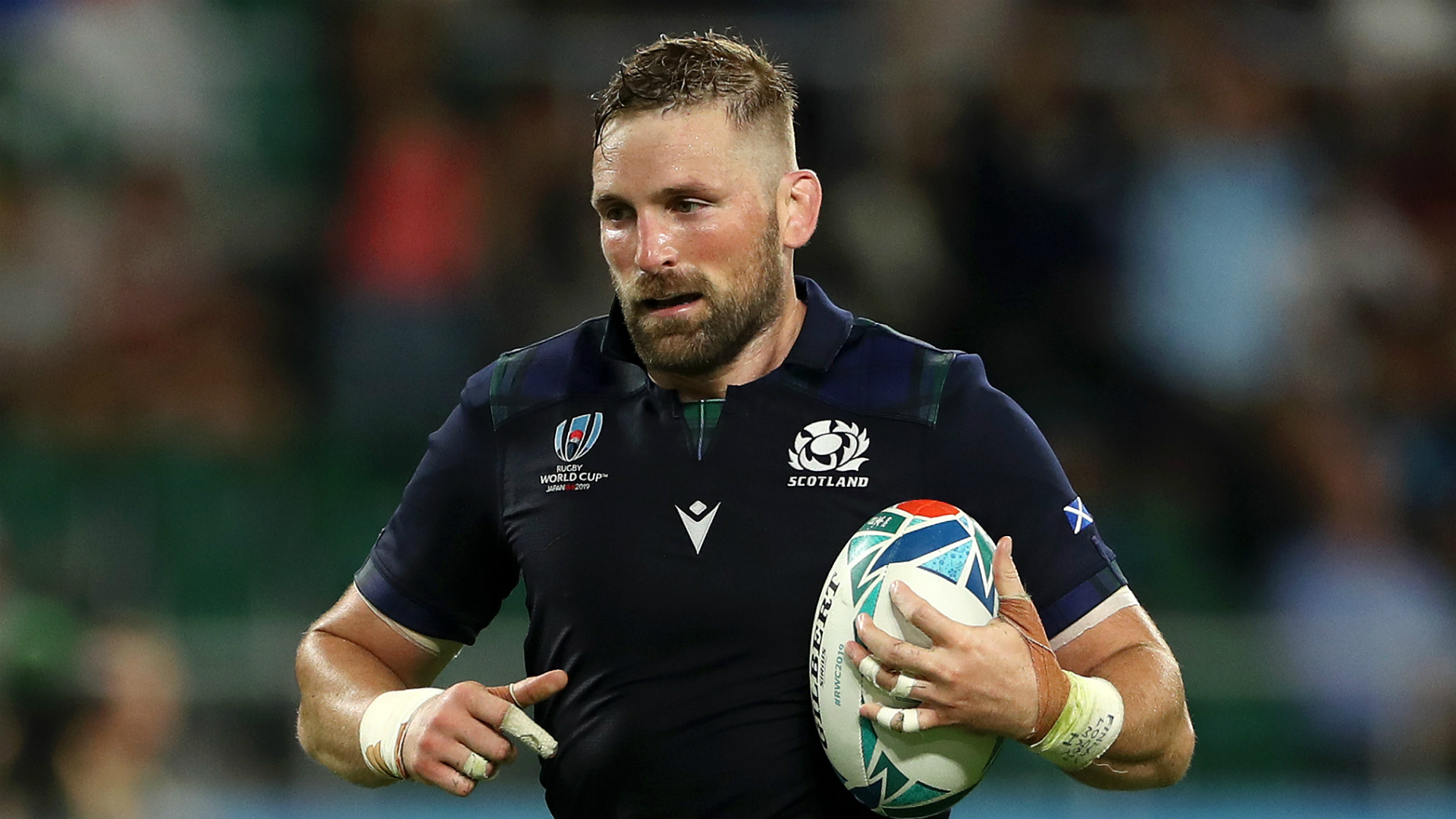 John Barclay steps down from Scotland duty