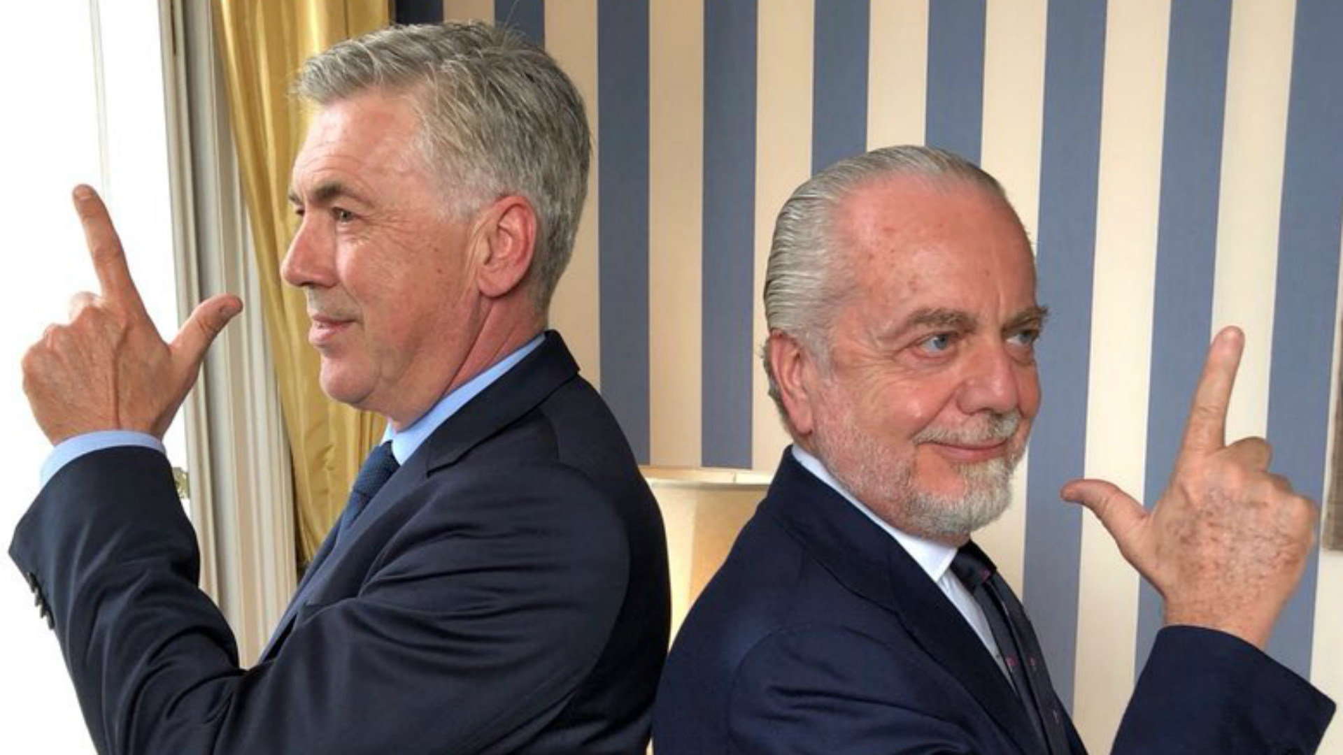 'I didn't call anyone' – Napoli president has total faith in Ancelotti amid Gattuso reports
