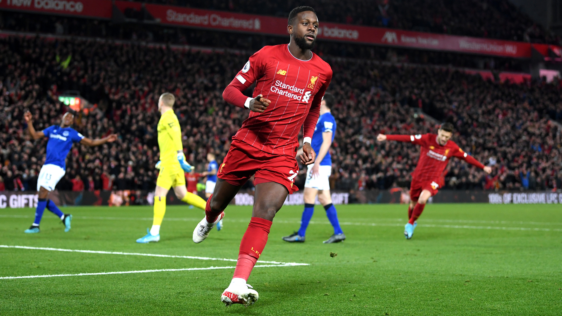 Klopp praises 'outstanding' Origi after derby win