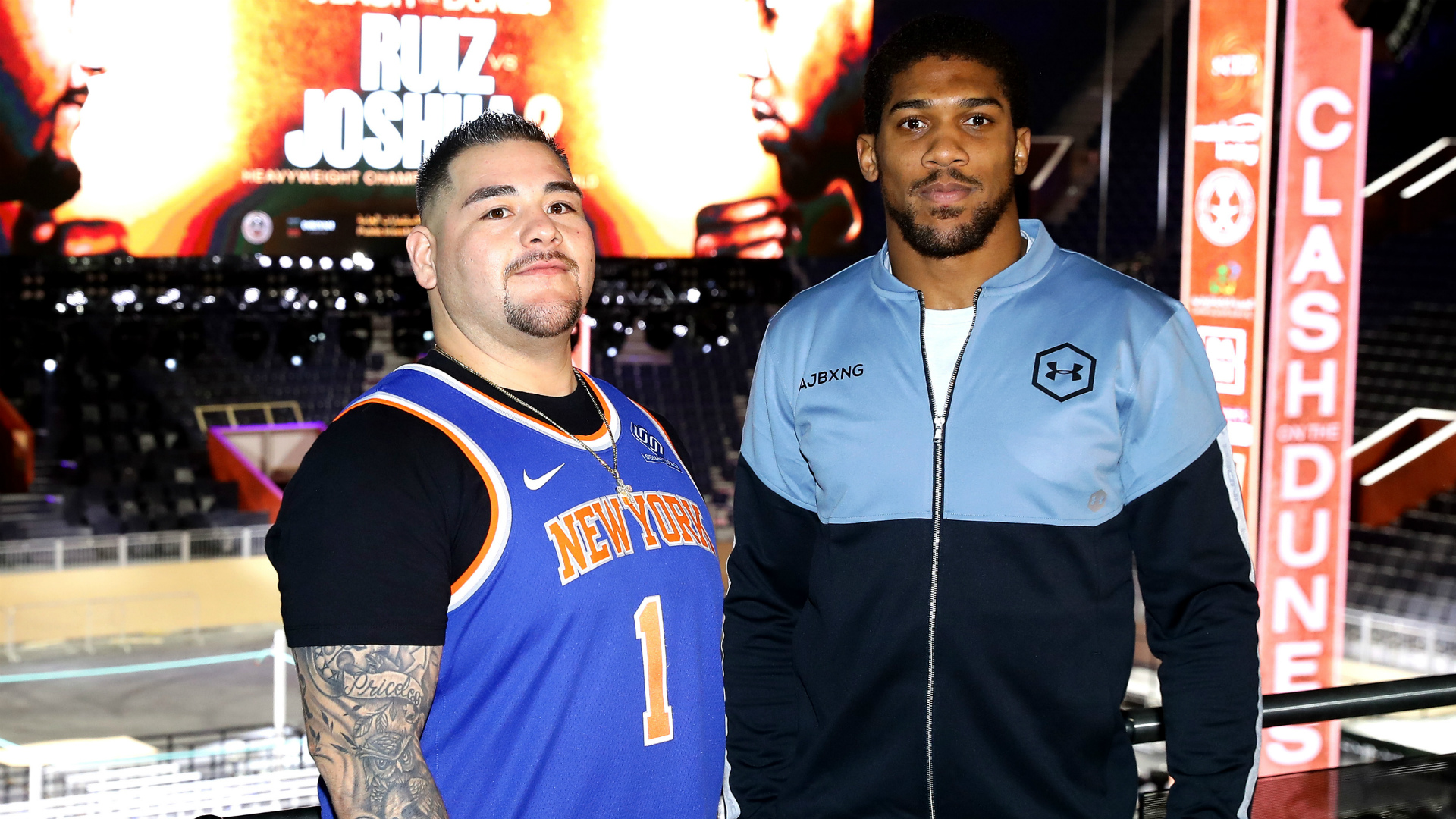 Ruiz v Joshua II: AJ set to weigh under 17 stone after camp inspired by Muhammad Ali
