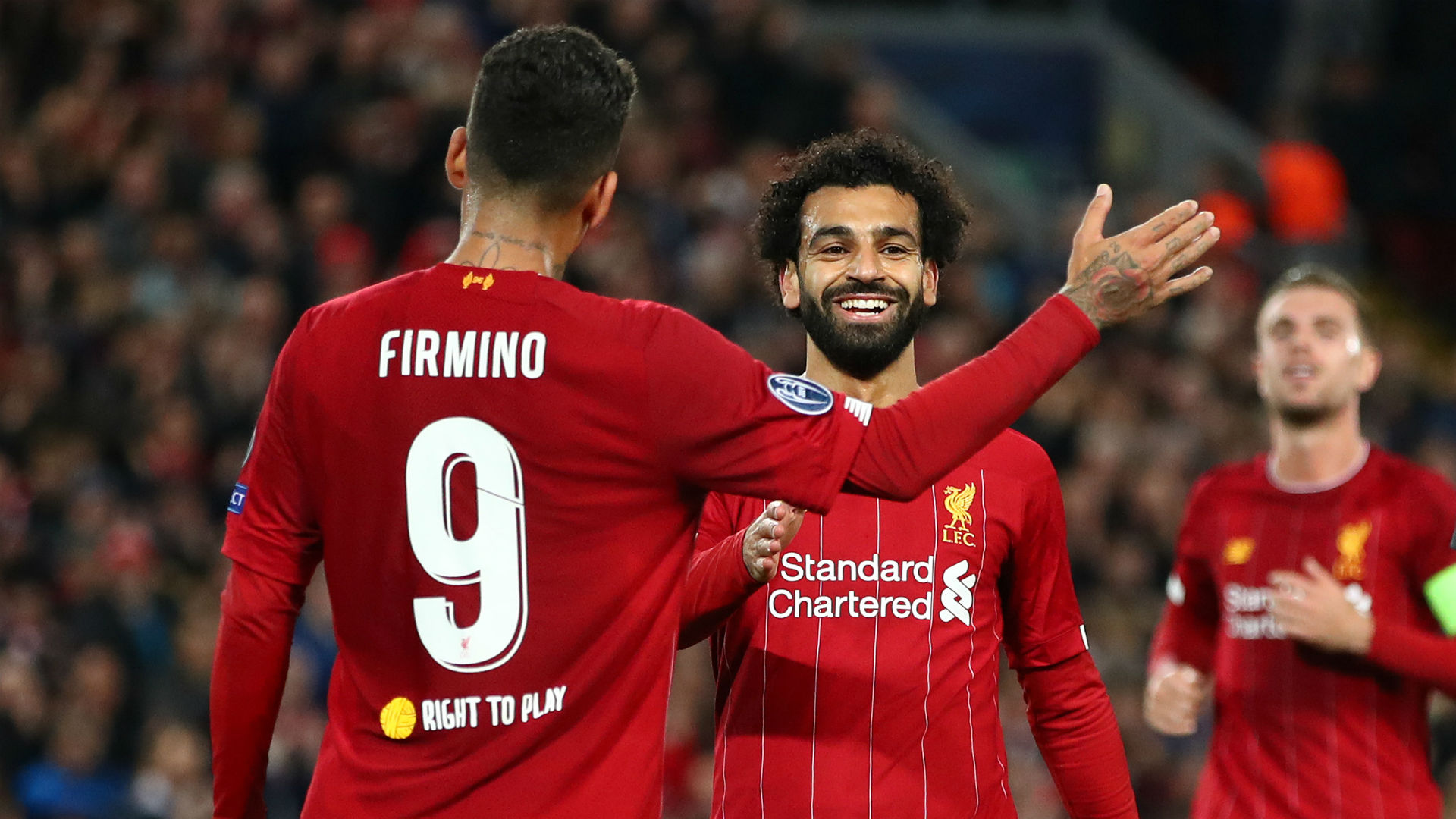 Salah and Firmino start on the bench for Liverpool as Klopp shuffles pack