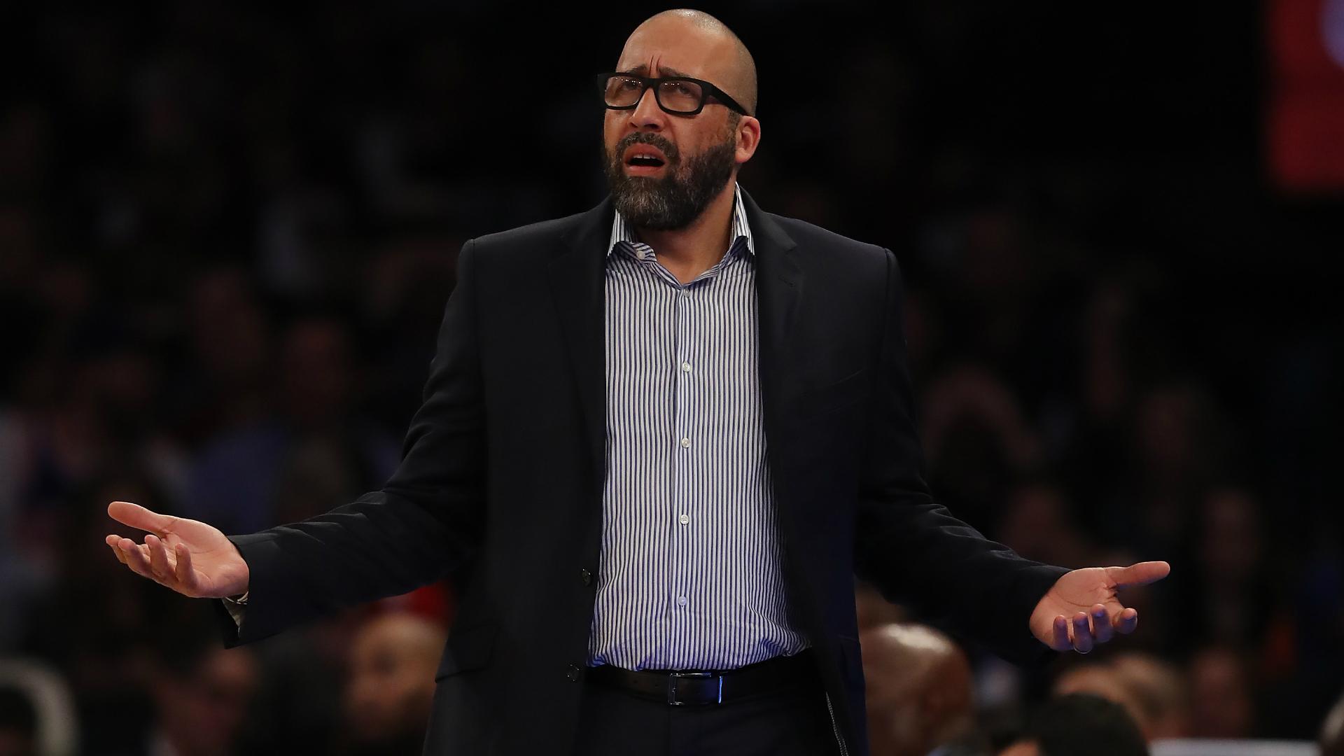 New York Knicks sack coach Fizdale