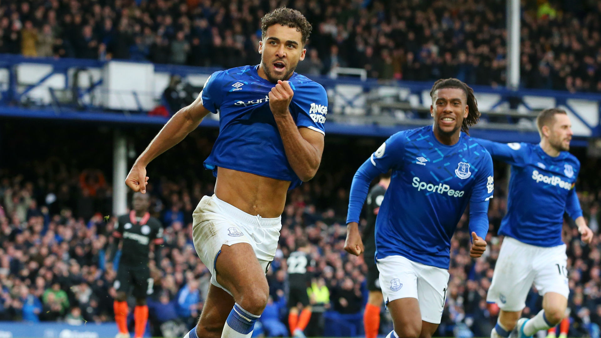 Everton 3-1 Chelsea: Calvert-Lewin at the double as Ferguson makes instant impact