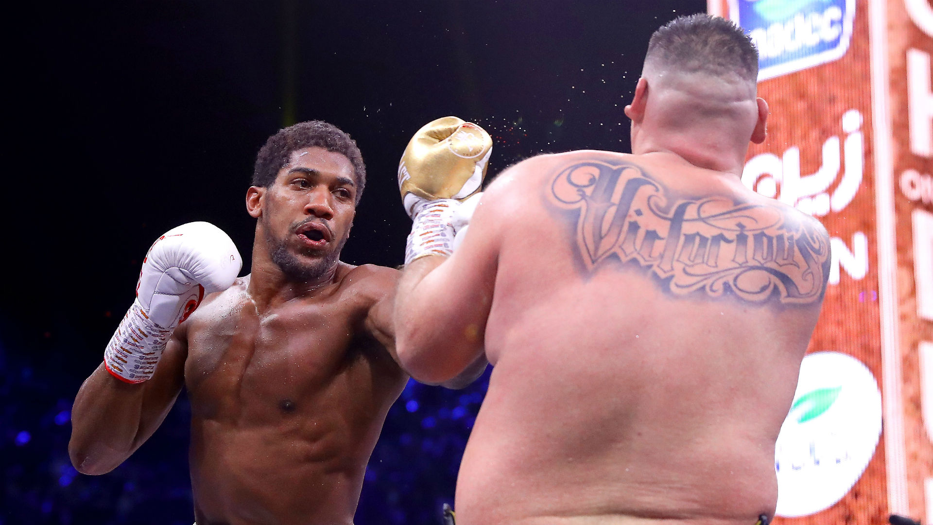 Joshua back at the heavyweight top table after Ruiz Jr feels the strain in desert rematch