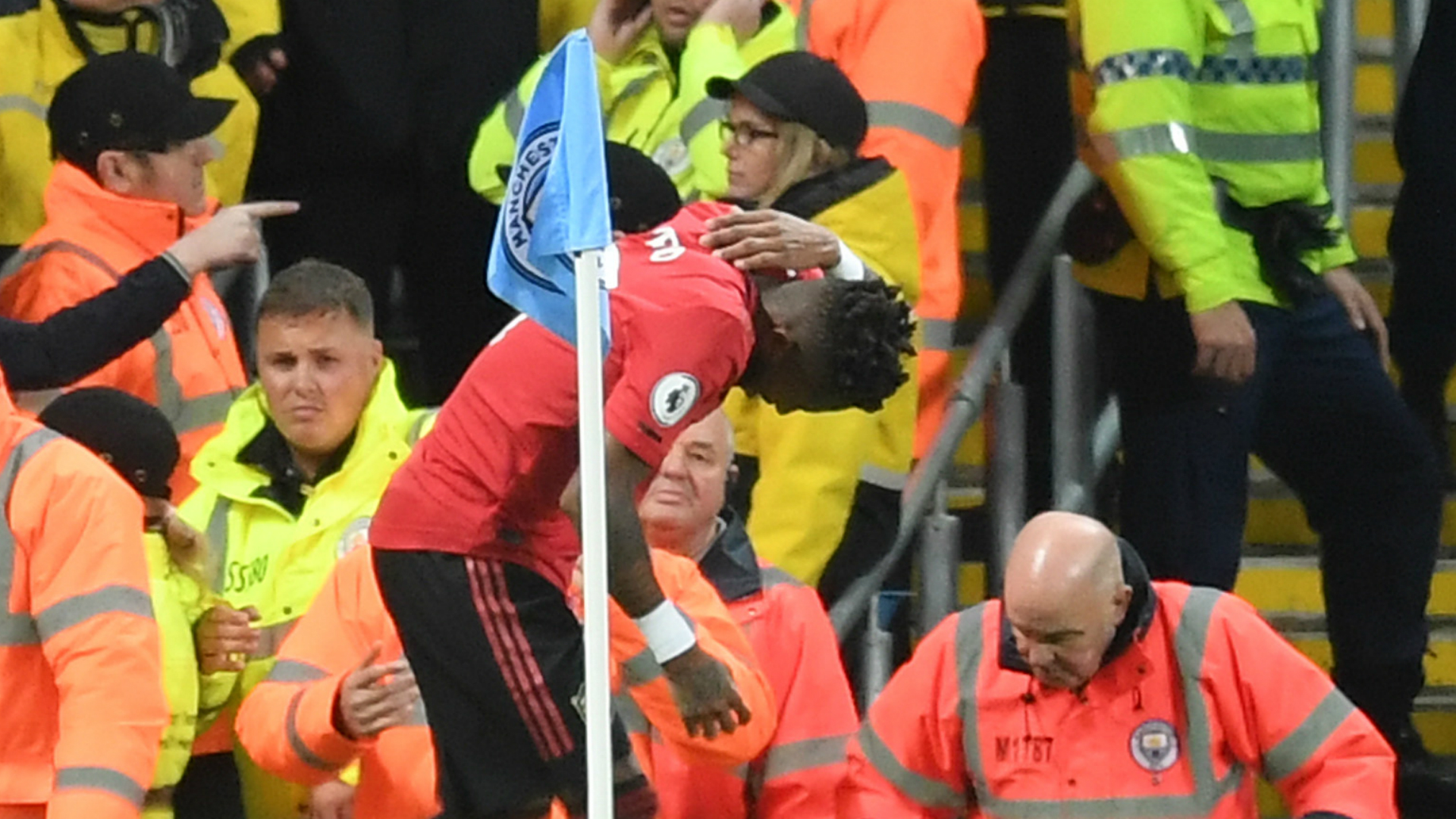 Fred hit by object during Manchester derby as Kick It Out call for action over alleged racist abuse