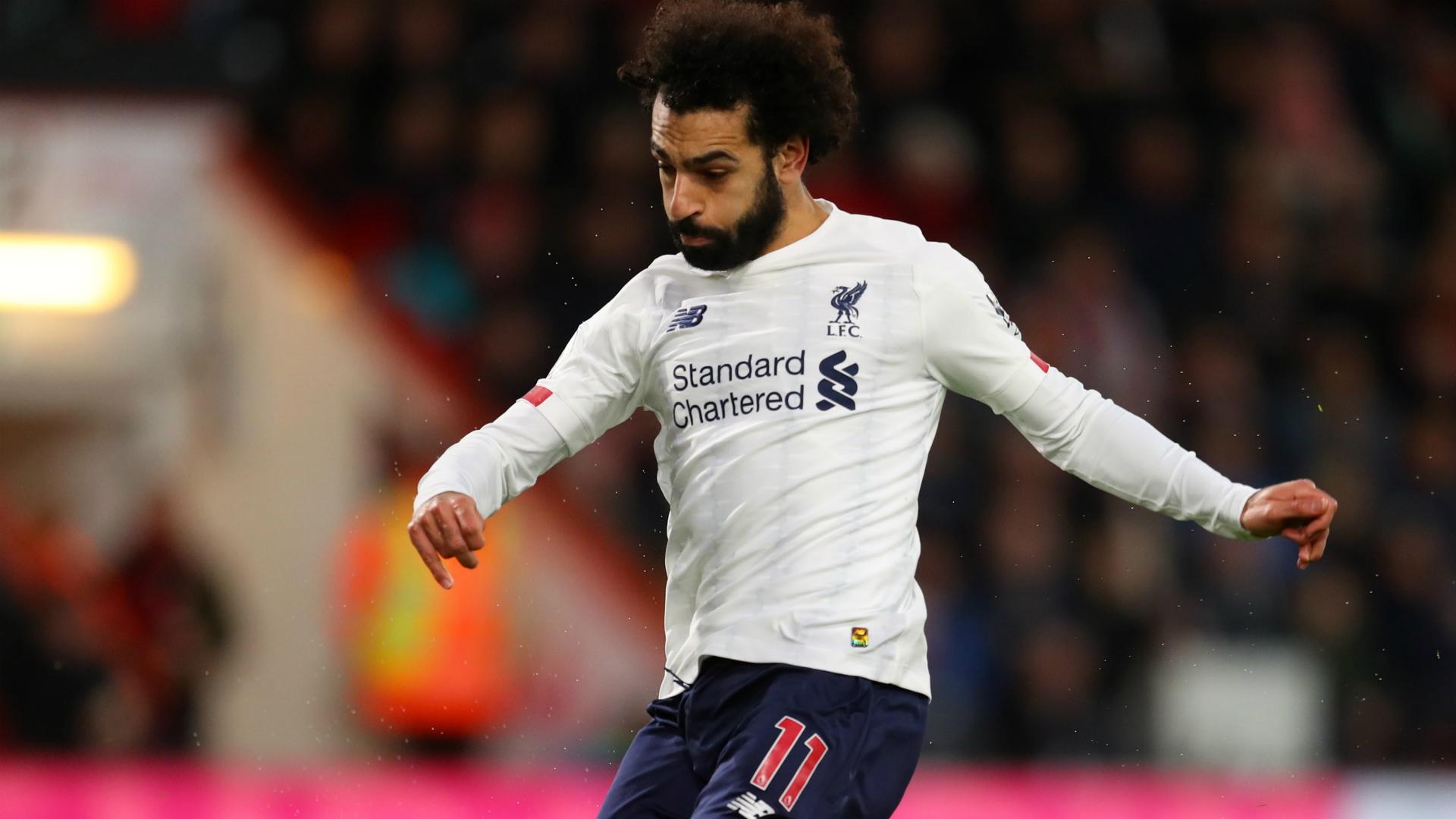 Salah the fourth fastest goalscorer in first 100 Premier League games