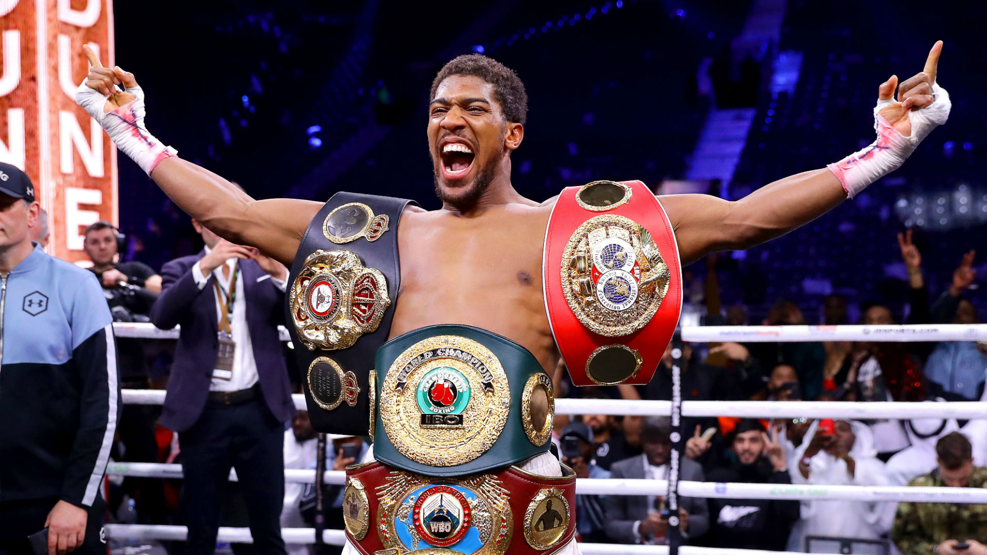 It's hard being champion - Joshua knows he will always need to prove himself