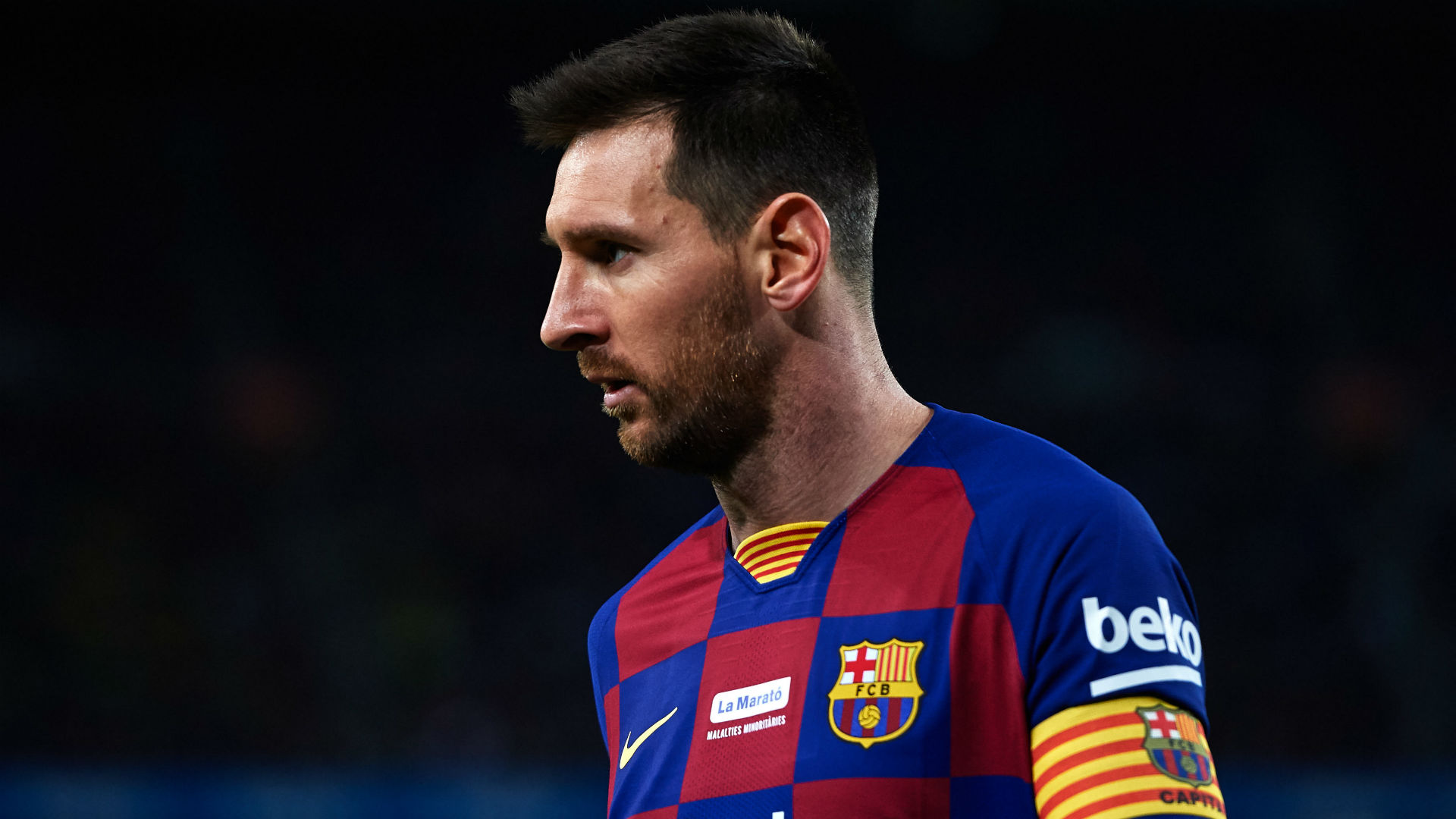 Barcelona leave Messi out of squad for Inter clash