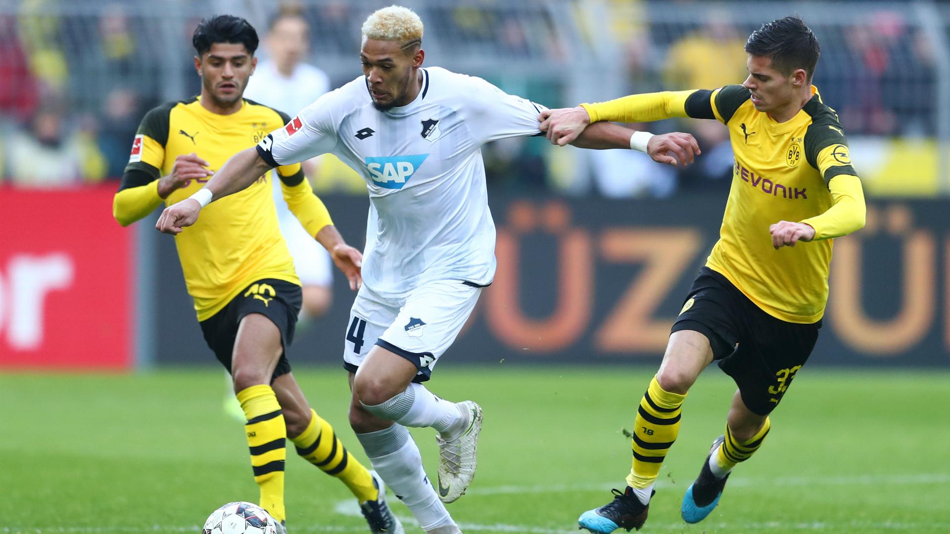 Borussia Dortmund 3 Hoffenheim 3: Sensational three-goal comeback denies Favre's men
