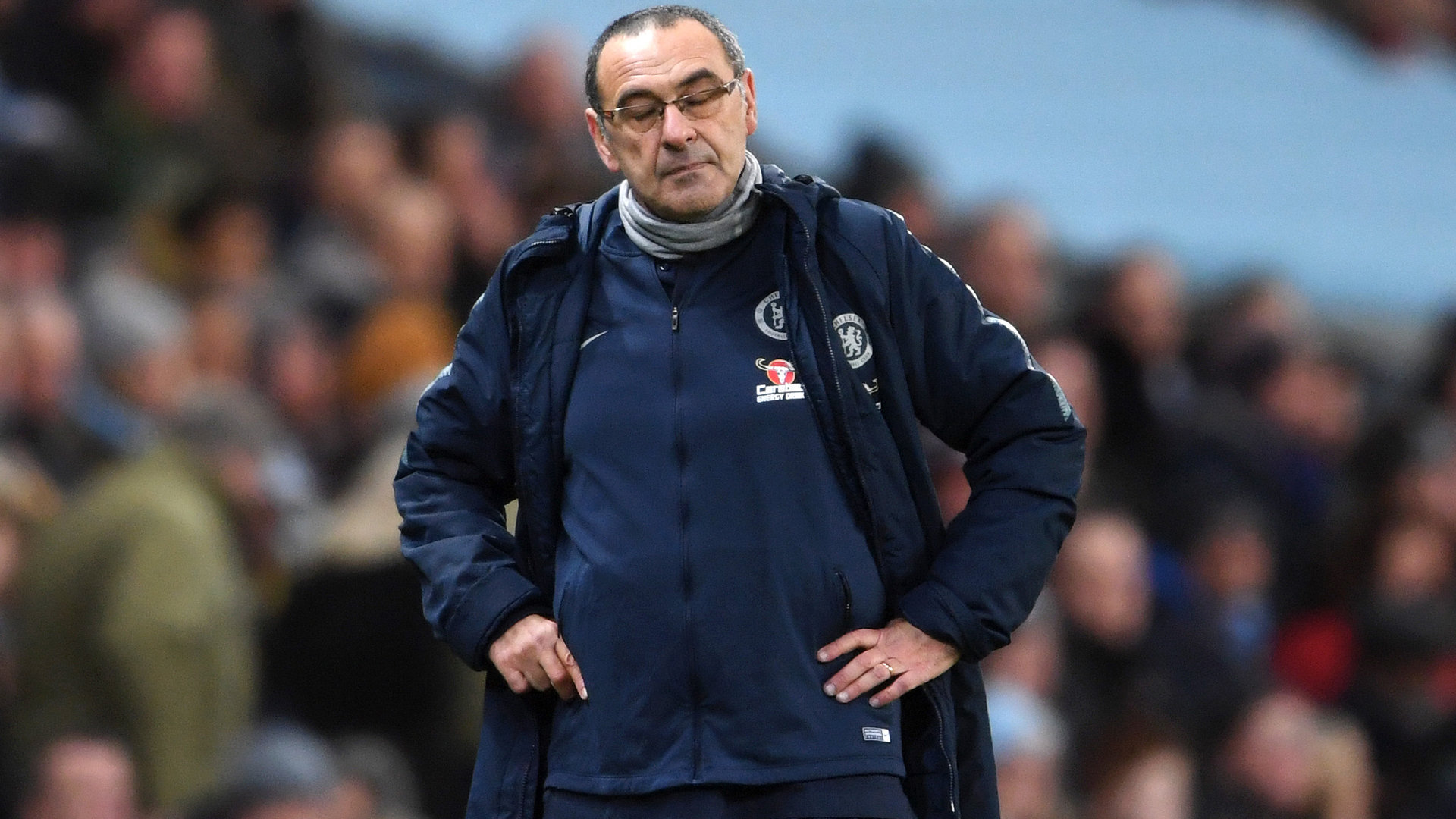 Sarri: My job is always at risk
