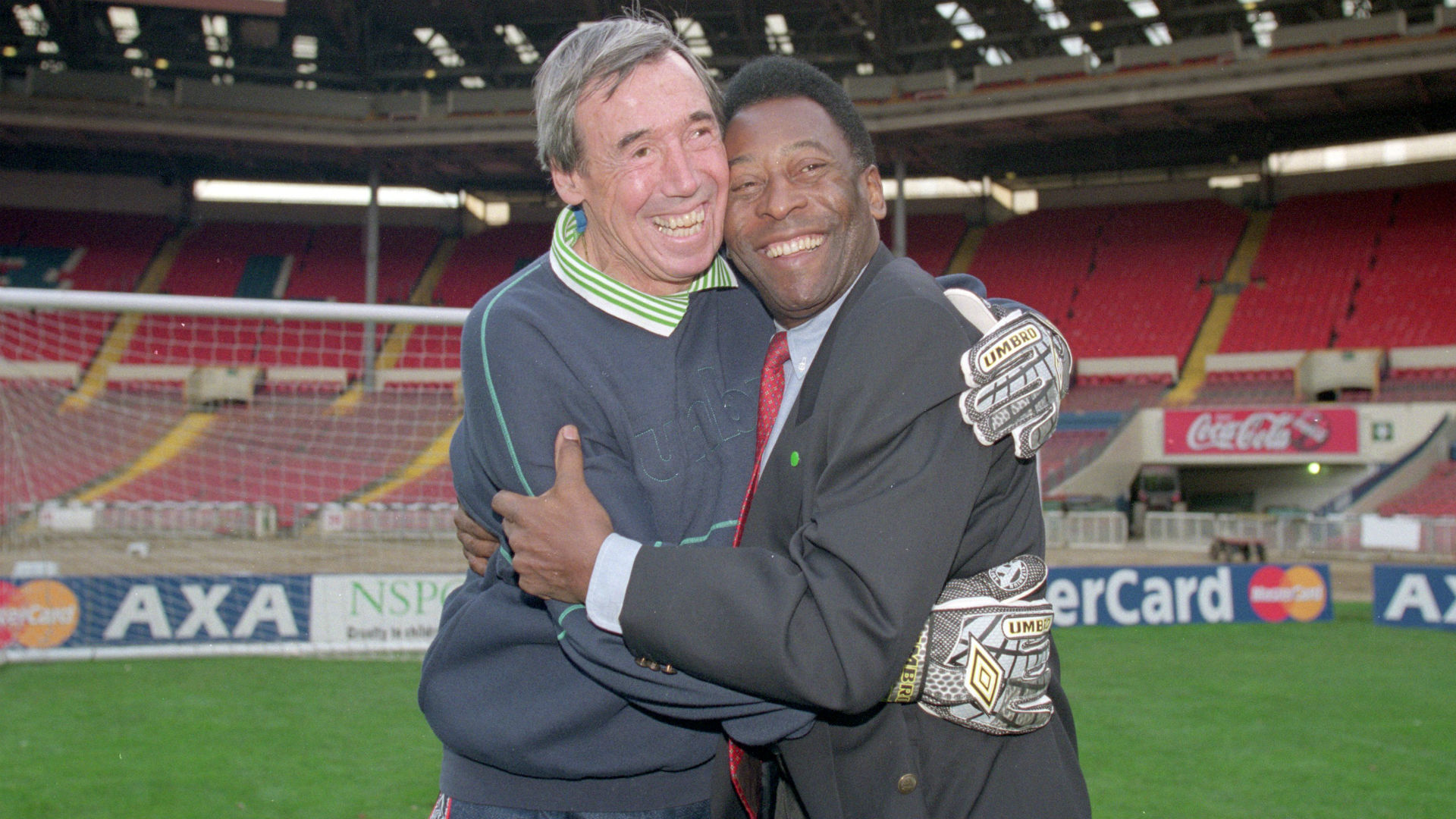 I'm glad he saved my header – Pele in moving tribute to 'magic' Gordon Banks