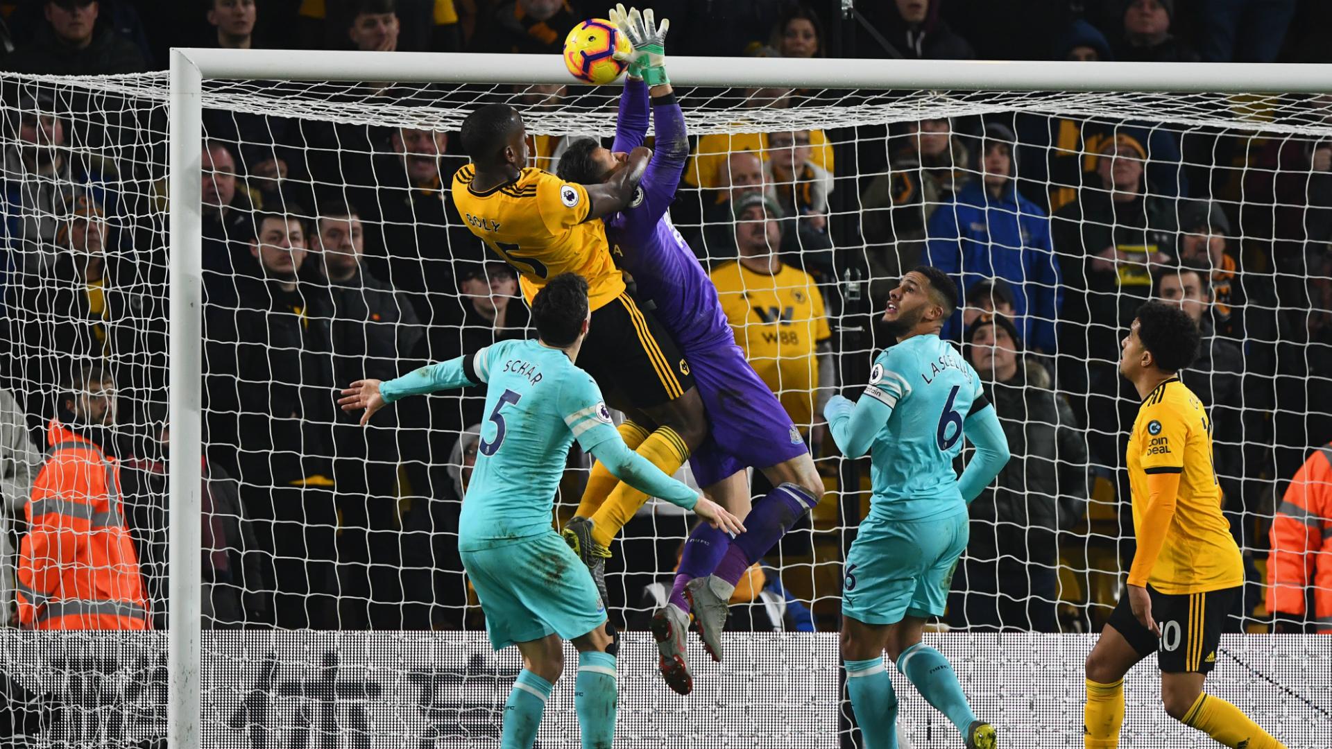 Benitez blames Dubravka for Wolves' last-gasp equaliser