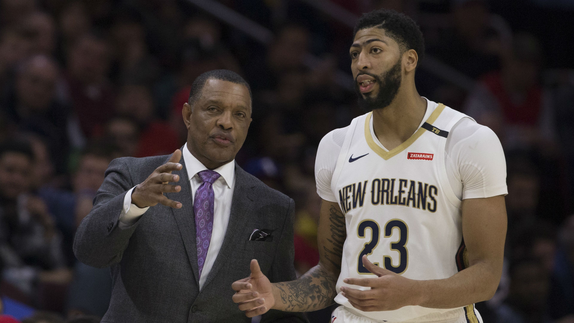 Anthony Davis says, 'We sucked' after Pelicans loss; Alvin Gentry 'done' talking about trade