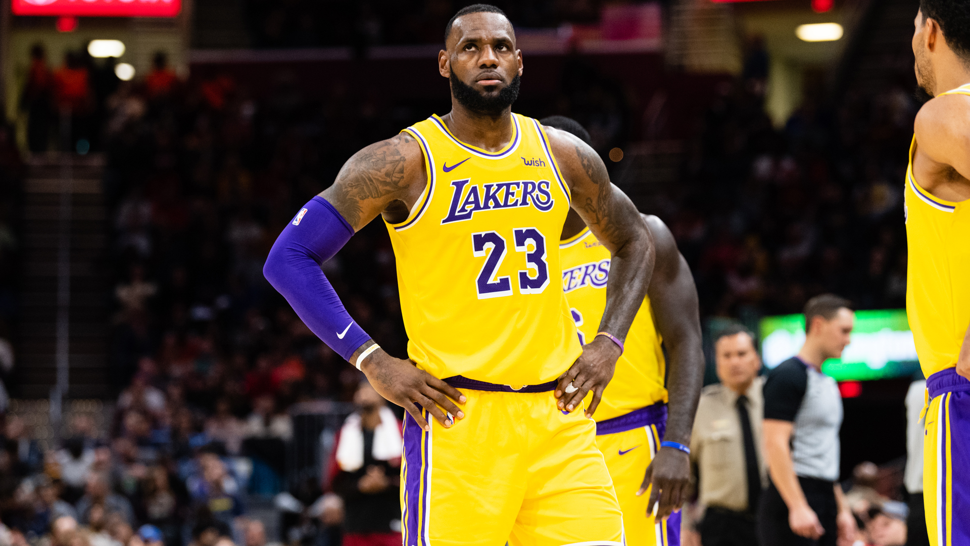 LeBron James not worried about playoffs after Lakers loss