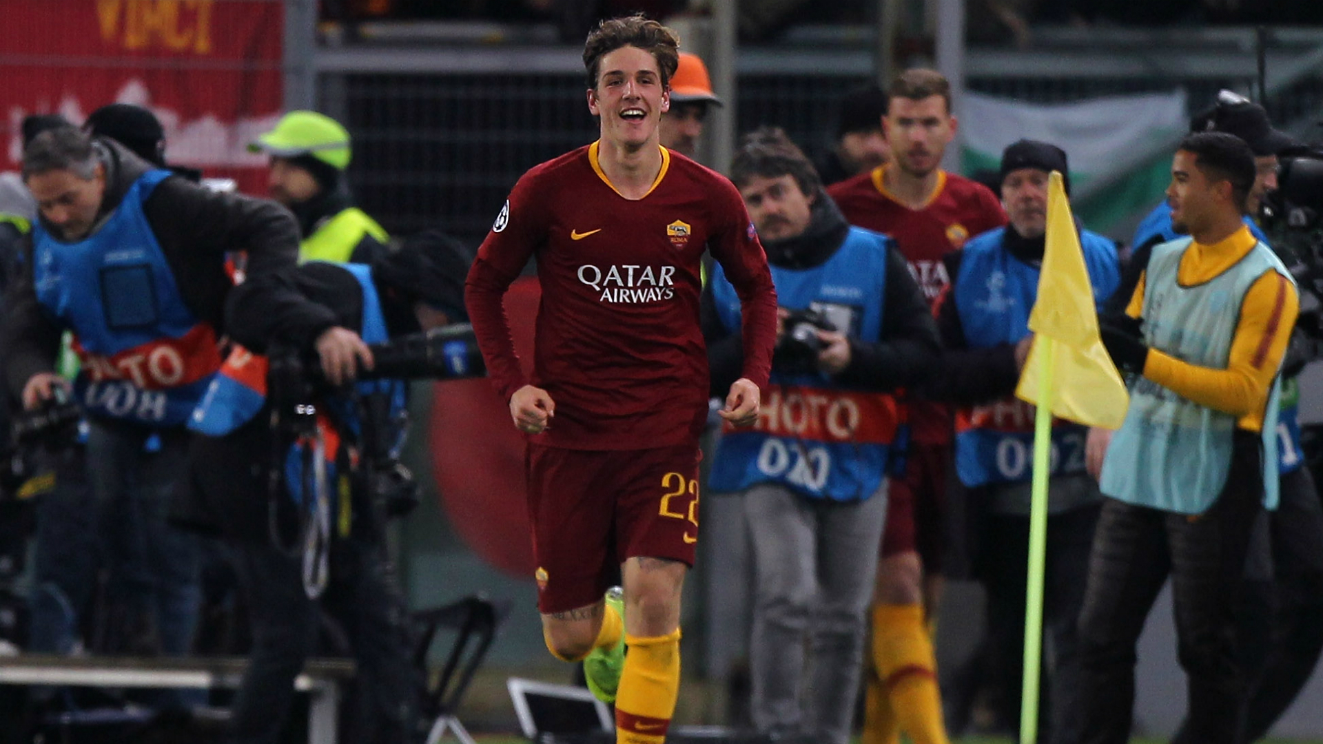 Zaniolo lost for words after Champions League brace lifts Roma