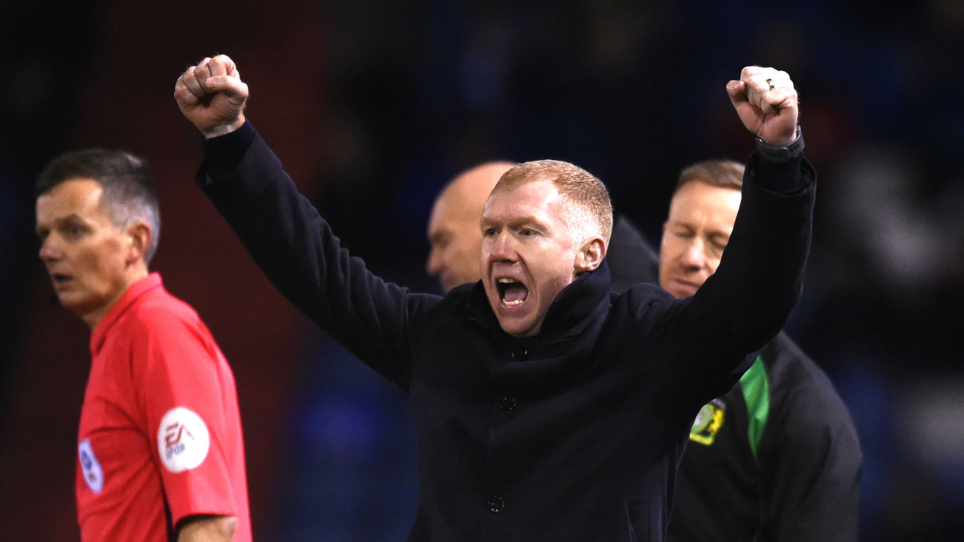 Scholes up and running as Oldham thrash Yeovil
