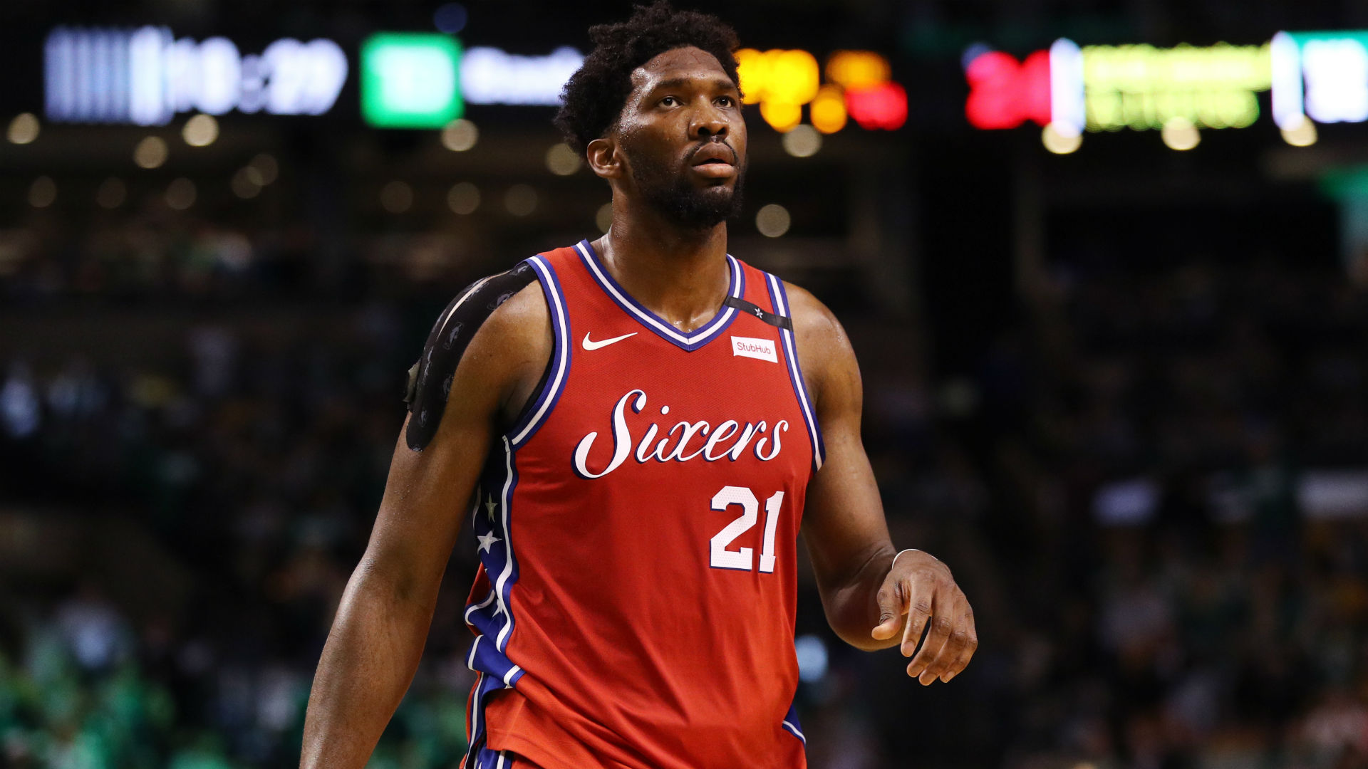 Embiid fined $25k for criticising officials after 76ers loss