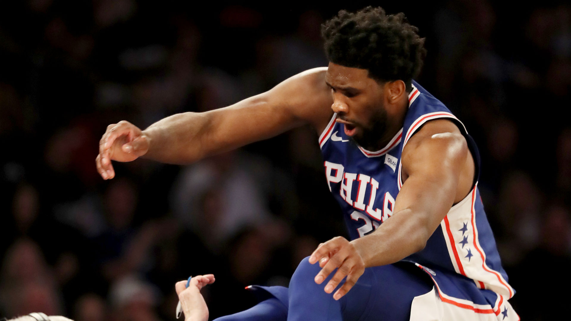 'Crisis averted': Joel Embiid avoids destroying actress Regina King