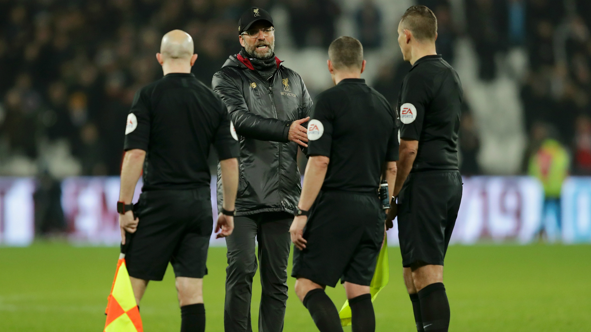 Klopp charged by FA for referee comments after West Ham draw