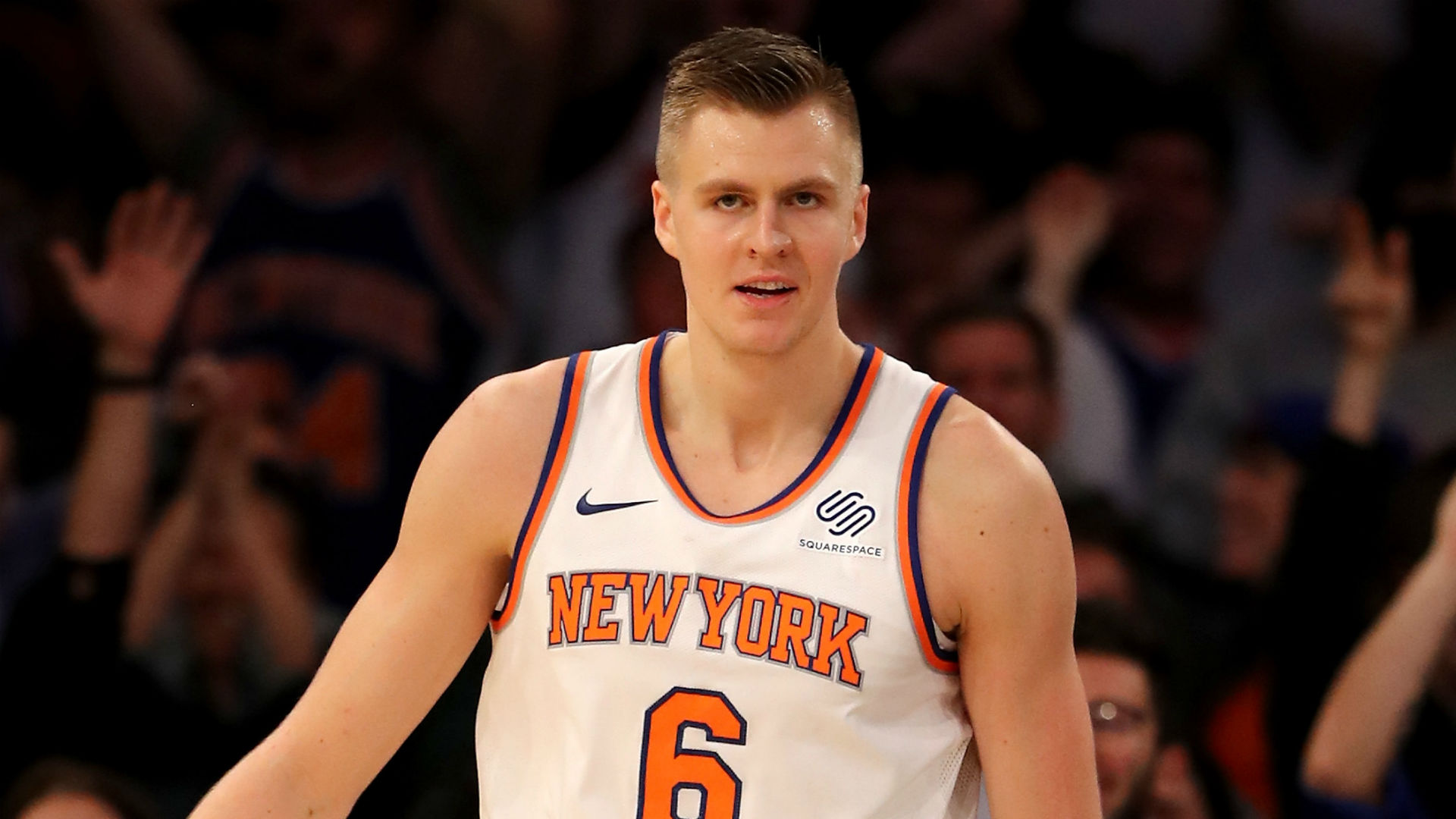 Knicks will no longer hold Latvian Heritage Night after Kristaps Porzingis trade, report says