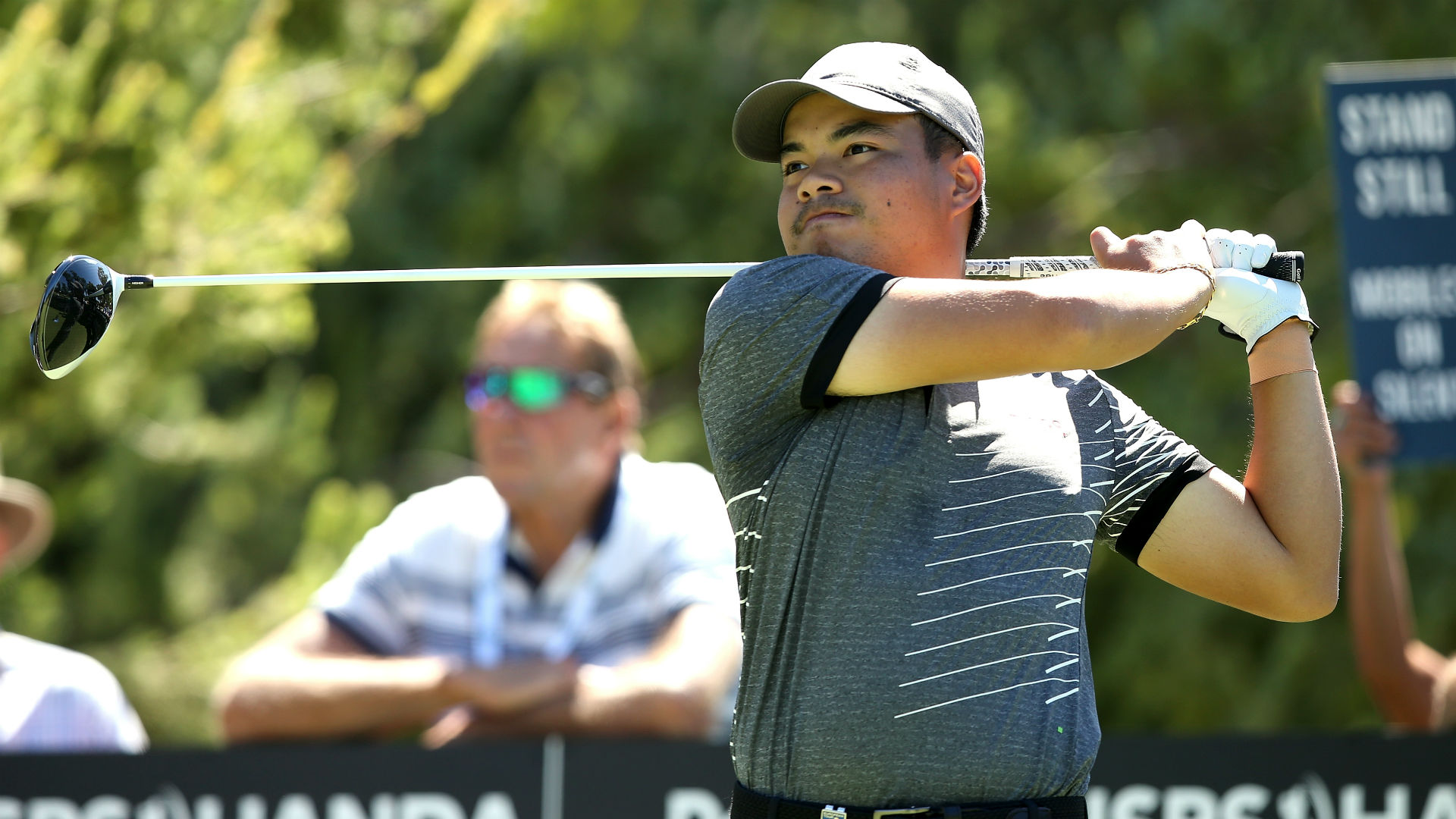 Tabuena equals European Tour record to take share of Perth lead