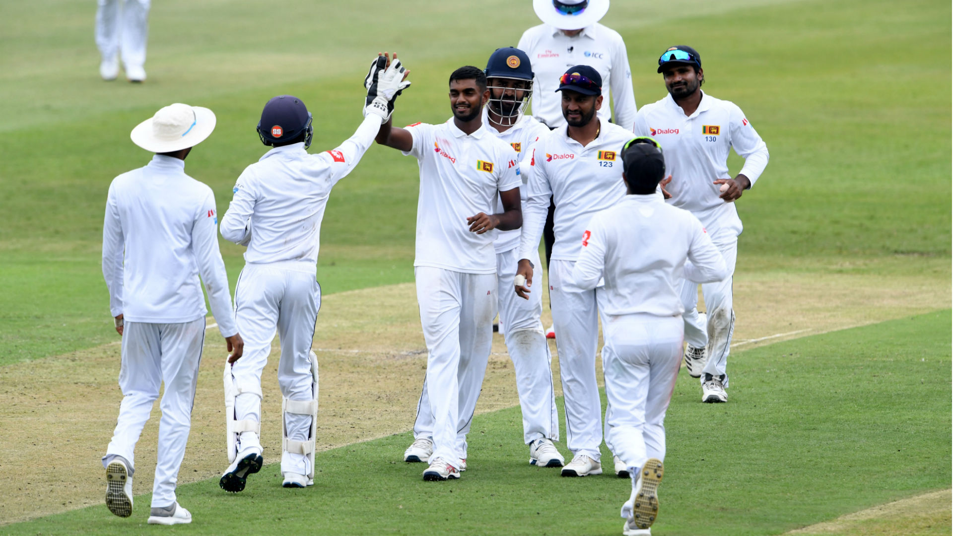 Sri Lanka on top despite De Kock resistance in Durban