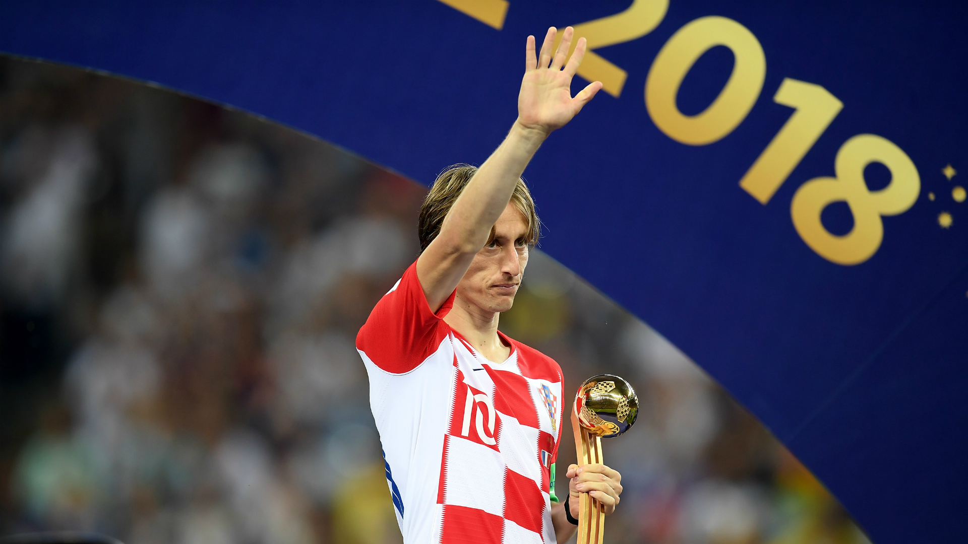 Ibrahimovic delighted Modric was rewarded for 'his year'