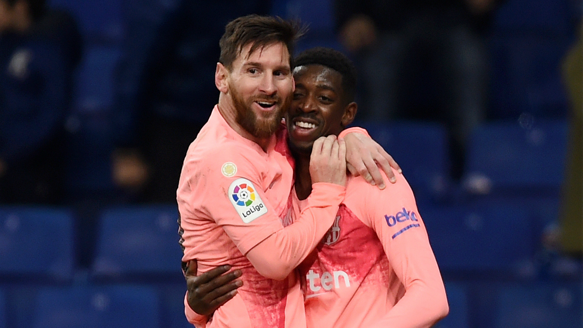 Messi makes playing for Barcelona easier - Dembele