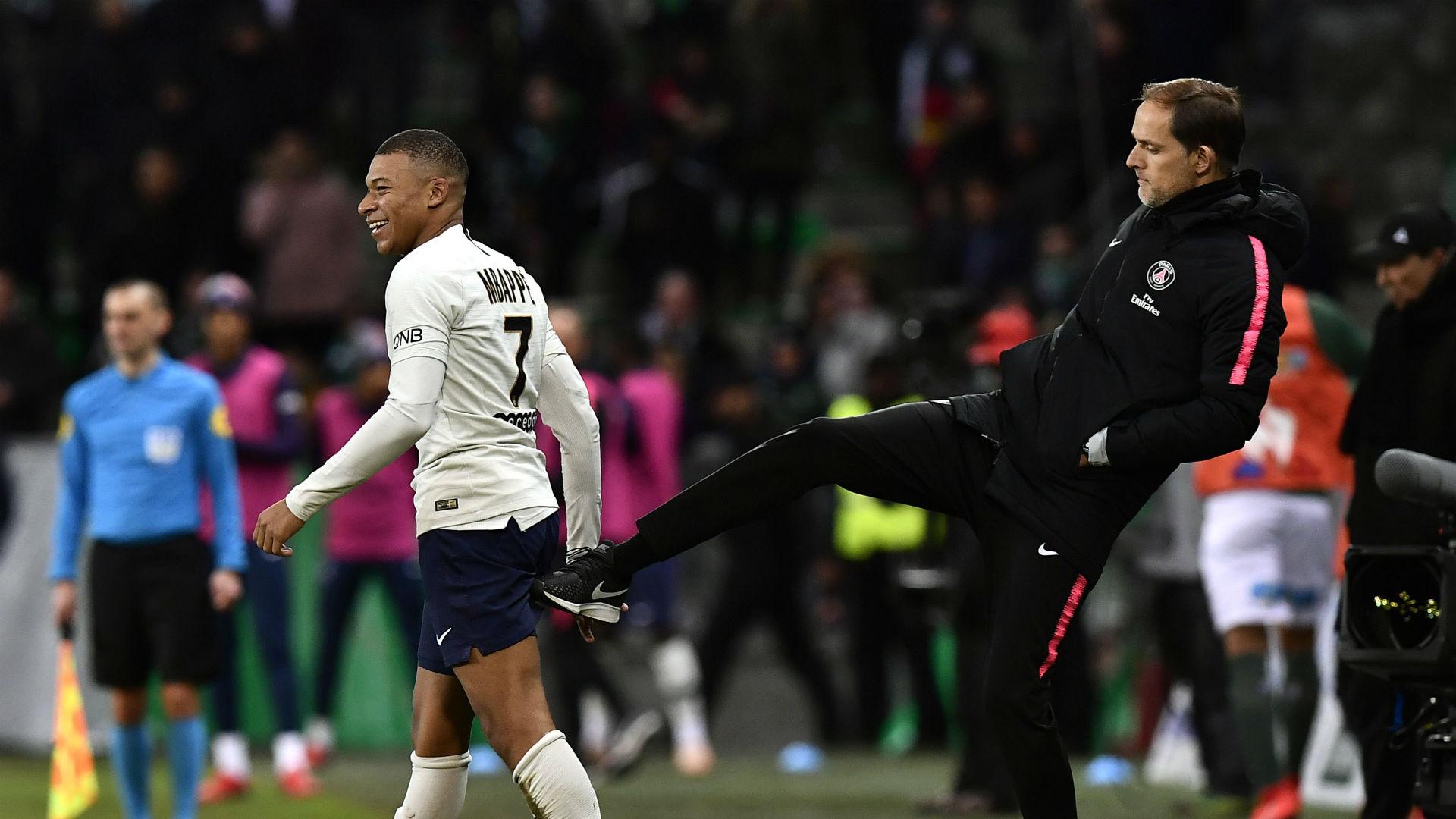 Mbappe workload a concern for PSG boss Tuchel