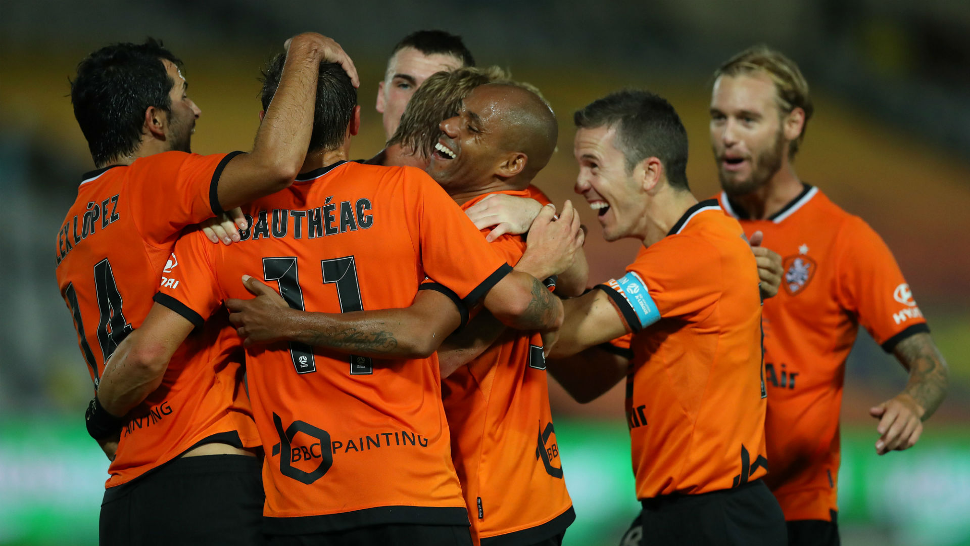Central Coast Mariners 3 Brisbane Roar 5: Lopez inspires win in eight-goal thriller
