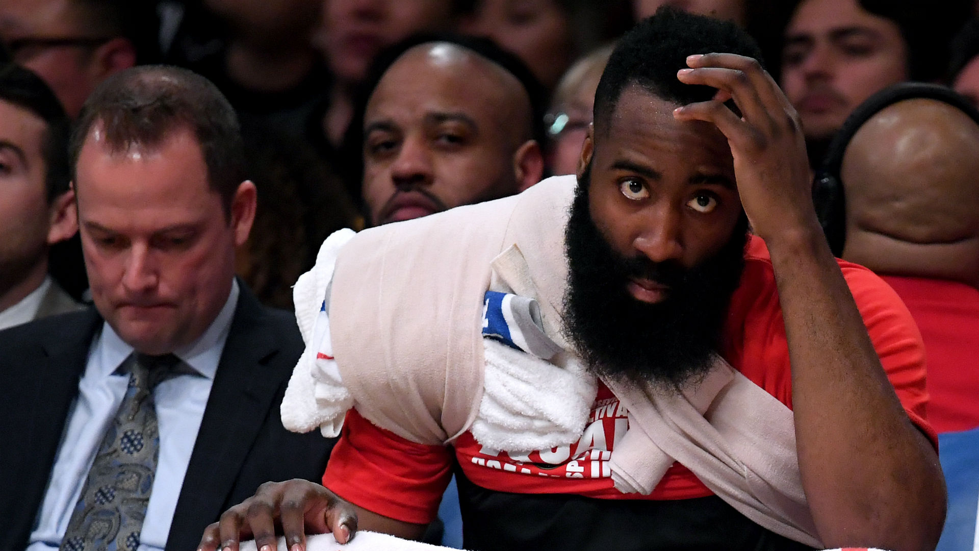 Harden: Rude and arrogant Foster should never officiate Rockets