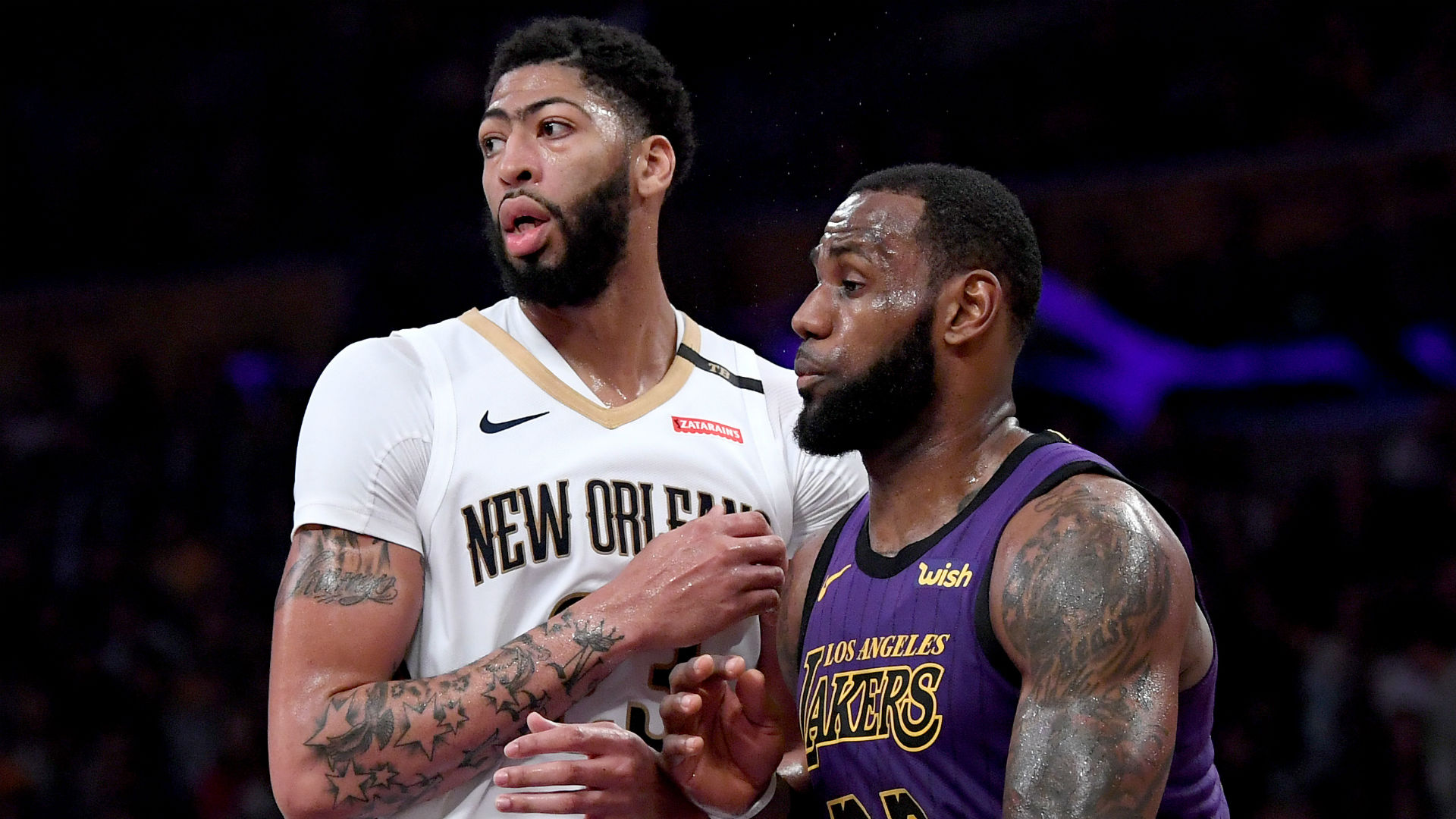 Anthony Davis, Antonio Brown to appear on LeBron James' 'The Shop' on HBO