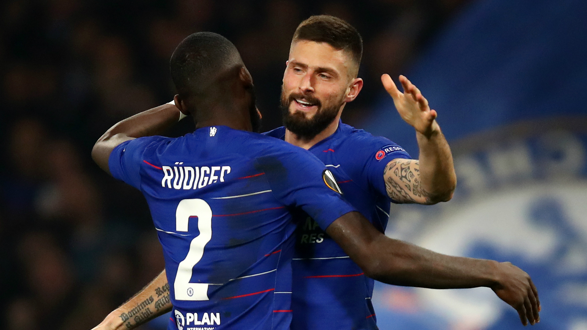 Giroud issues EFL Cup warning after Chelsea's Europa League win