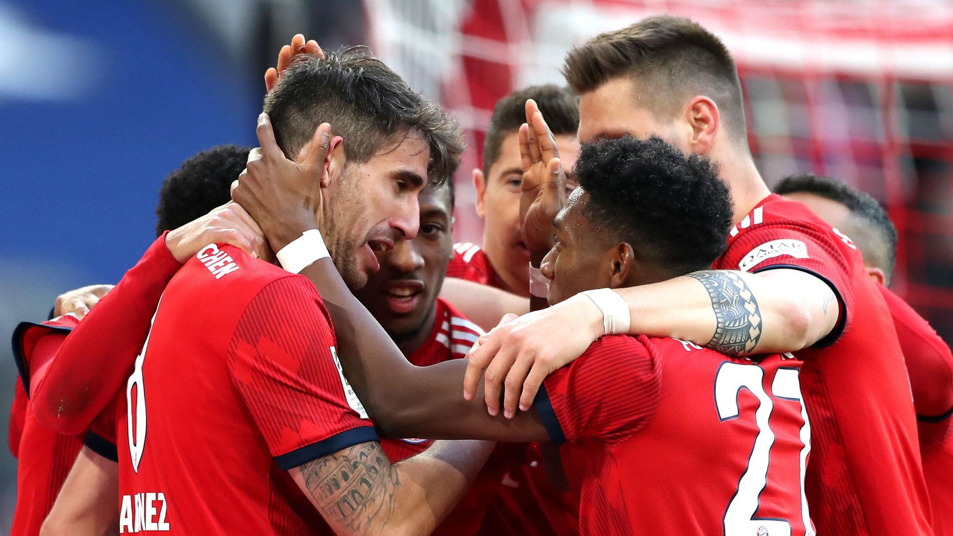 Bayern Munich 1 Hertha Berlin 0: Martinez sends champions level at top